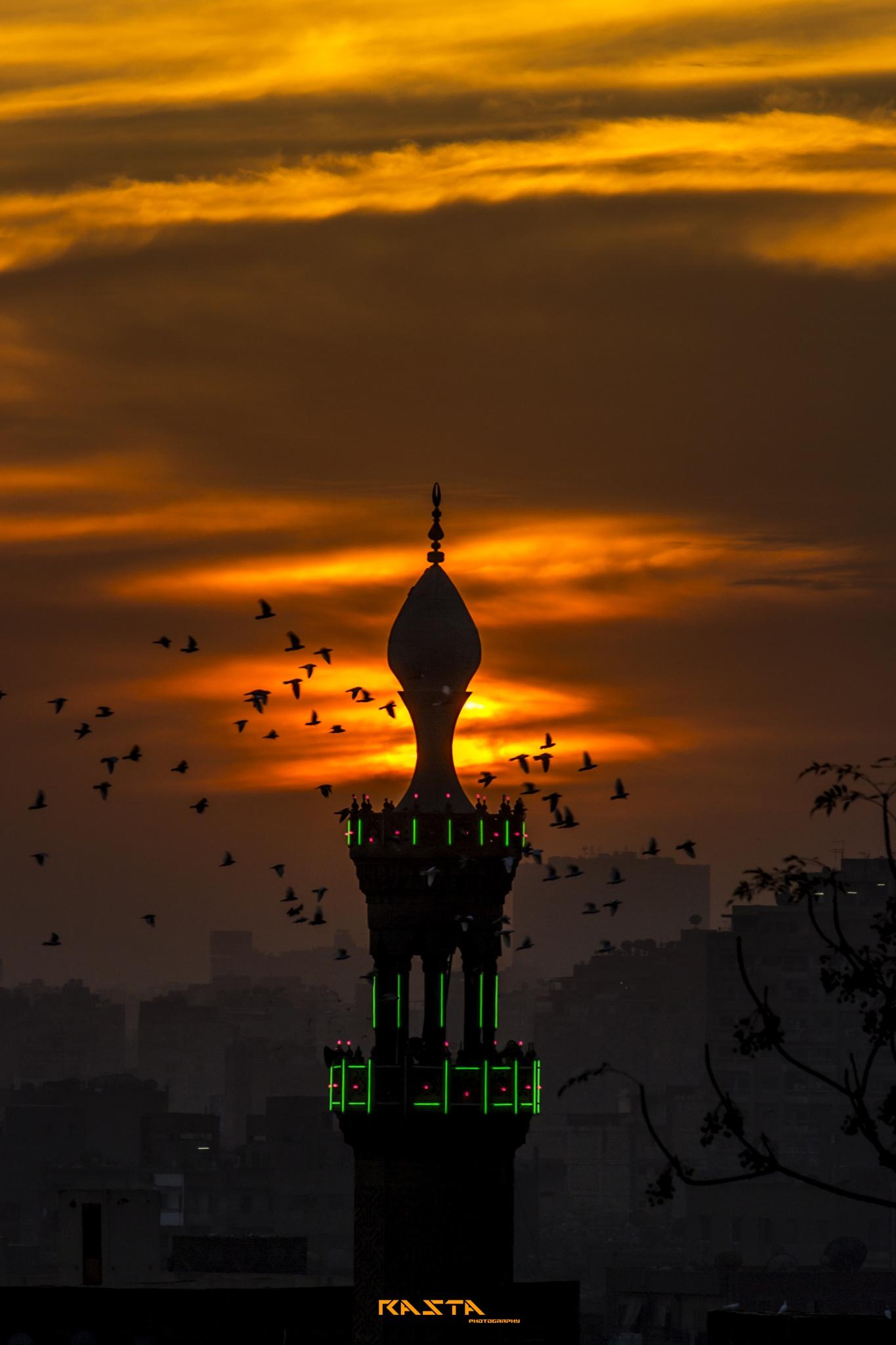 sunset by Rasta Mohamed