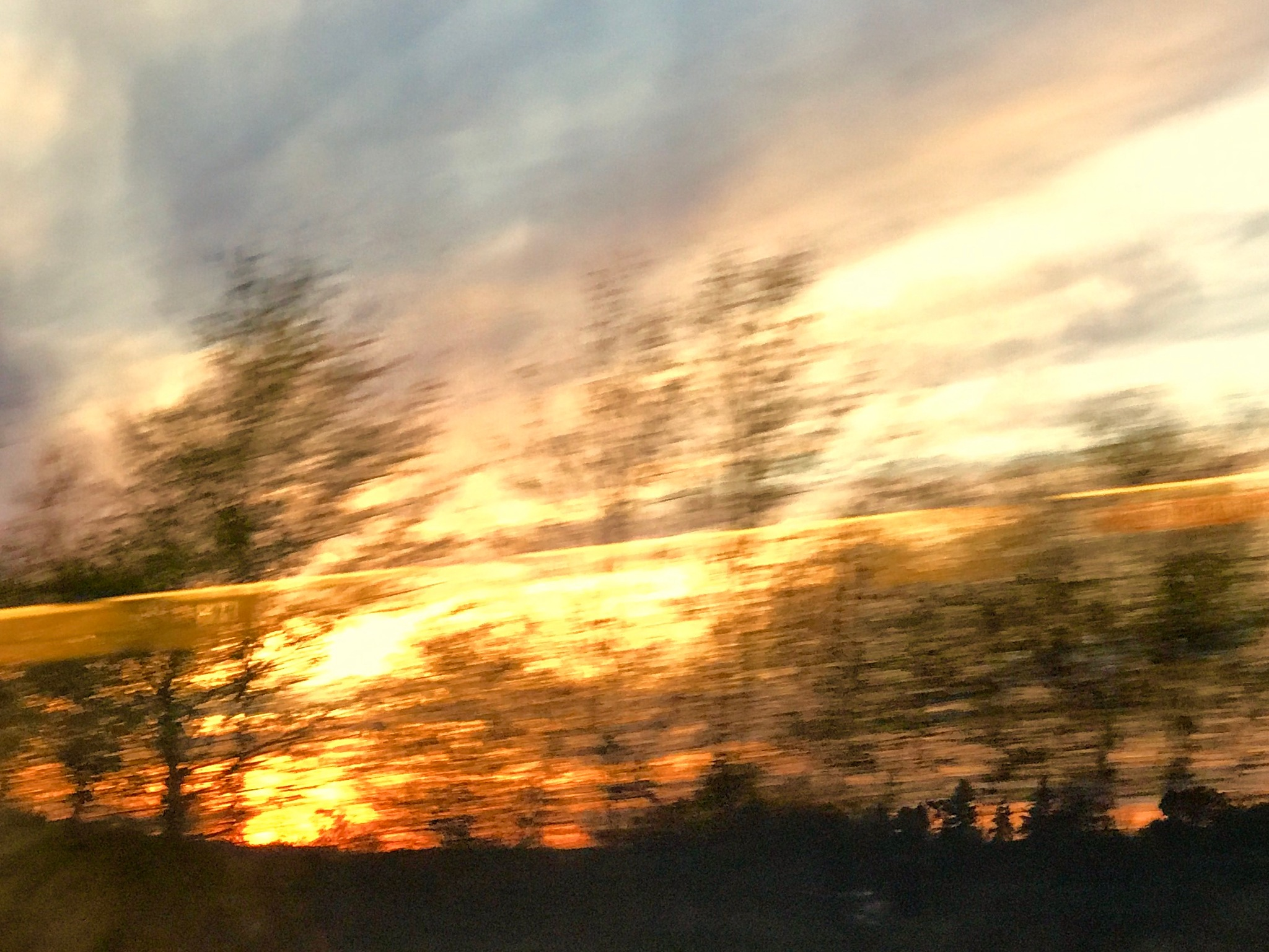 Sunset in motion  by gozar59