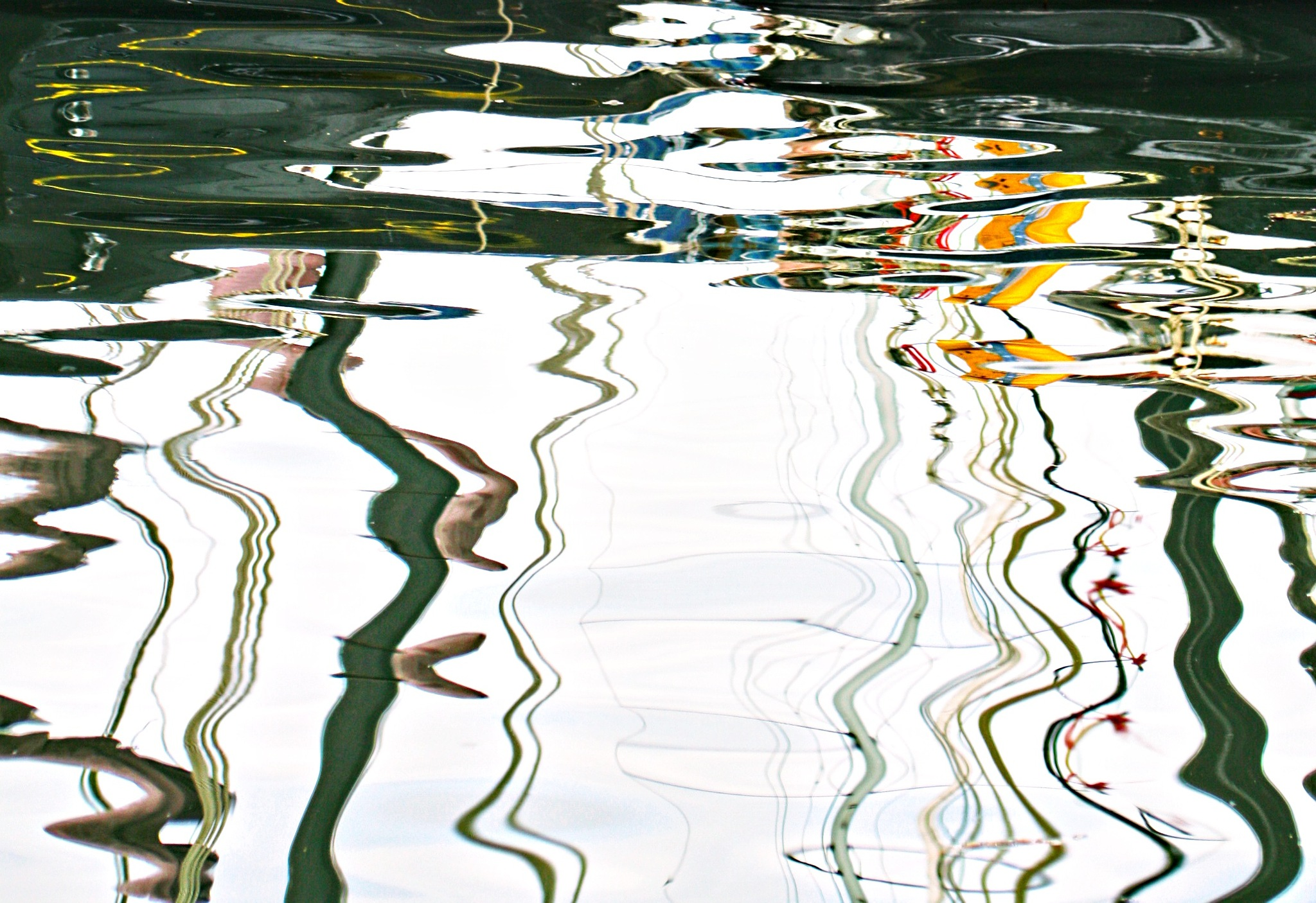 ripples  harbour  by Dawn Younger