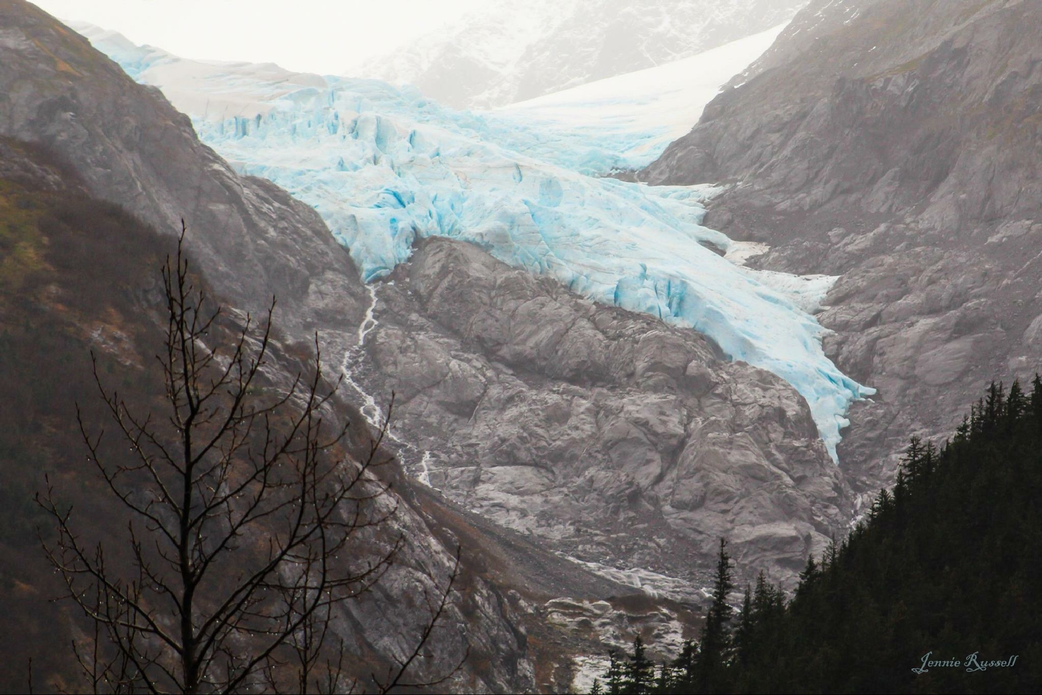 Chugach National Park Glaciers... by Jennie Russell