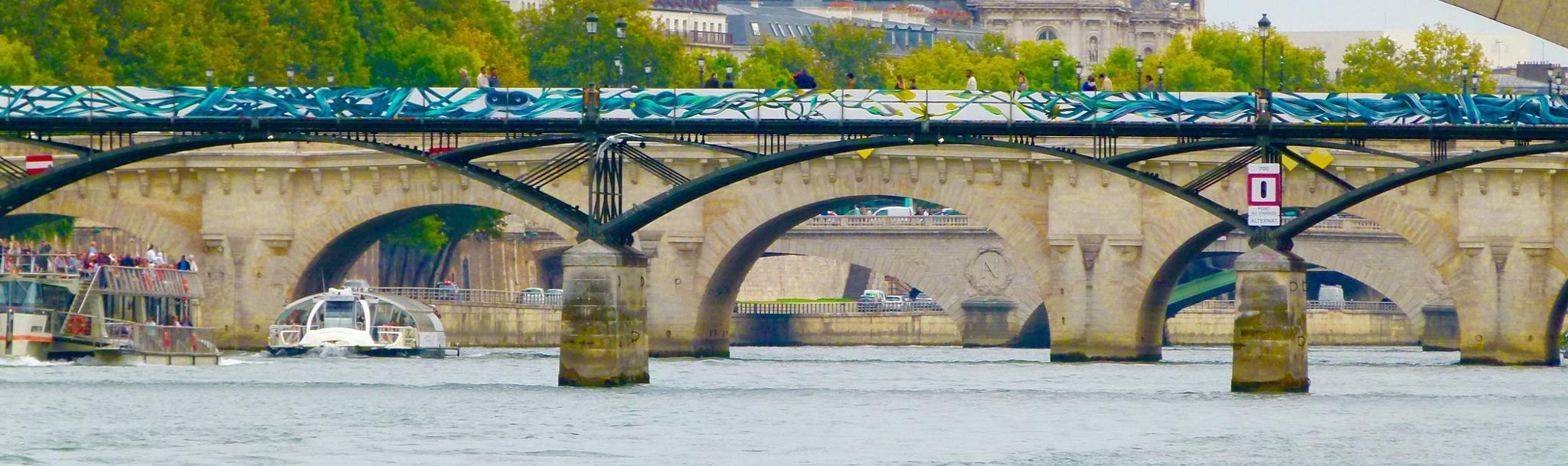 Puentes de París by garoca