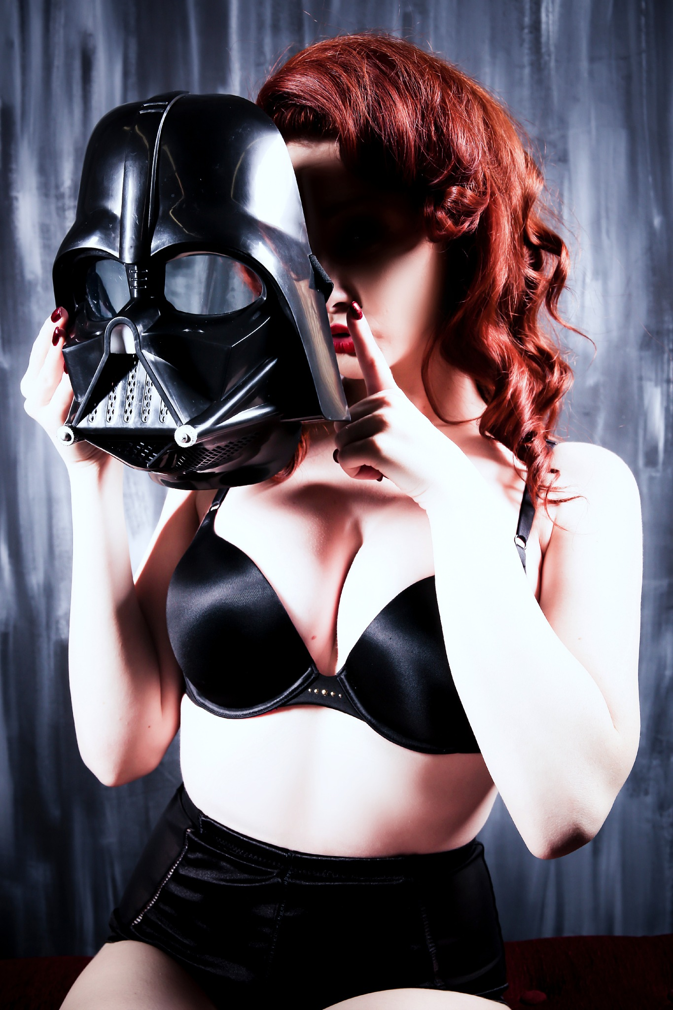 Ssshhhh...just me and Vader by mrusc96
