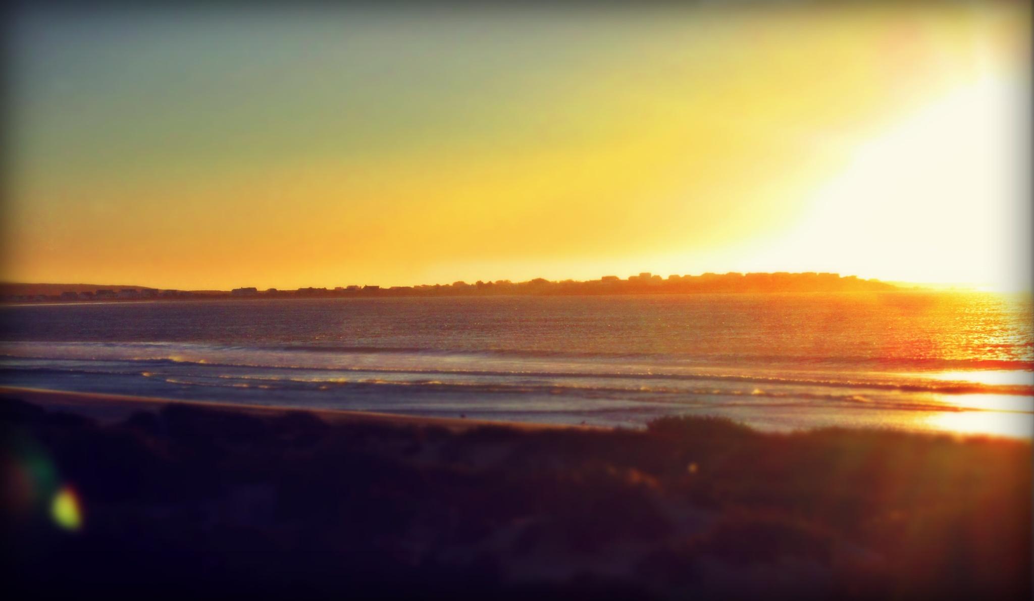 Sunset to Sea by Kate Blake