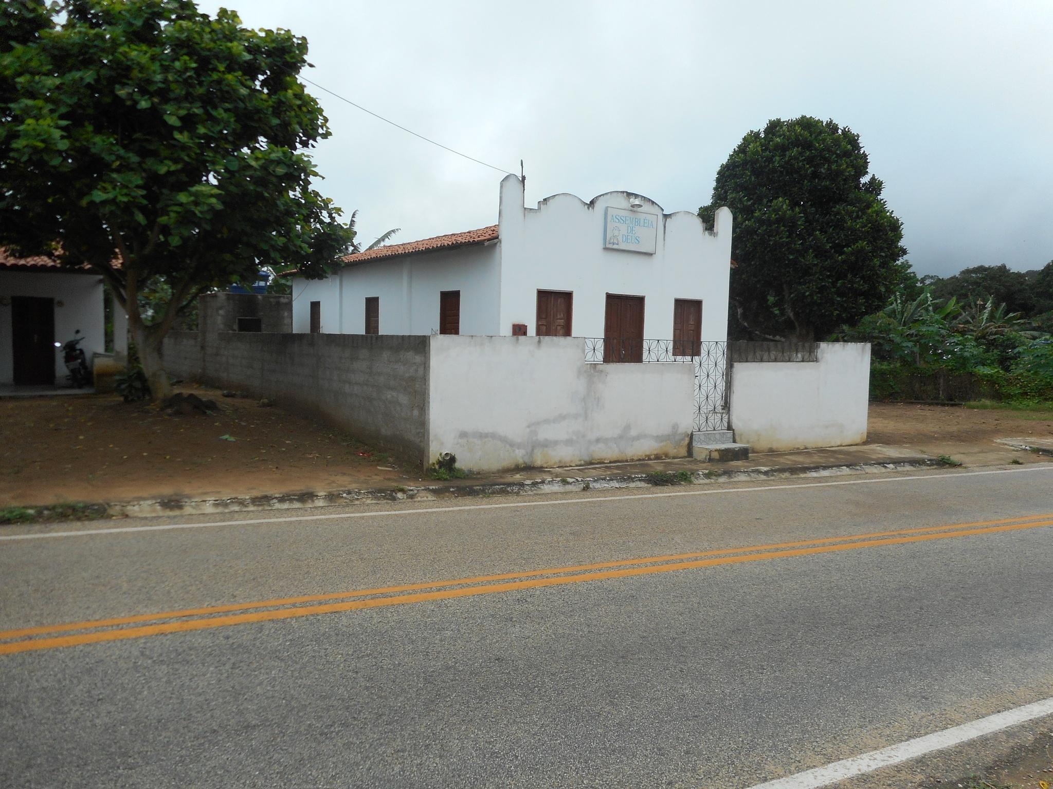LIL WHITE CHURCH IN THE DALE by Elmer Leach