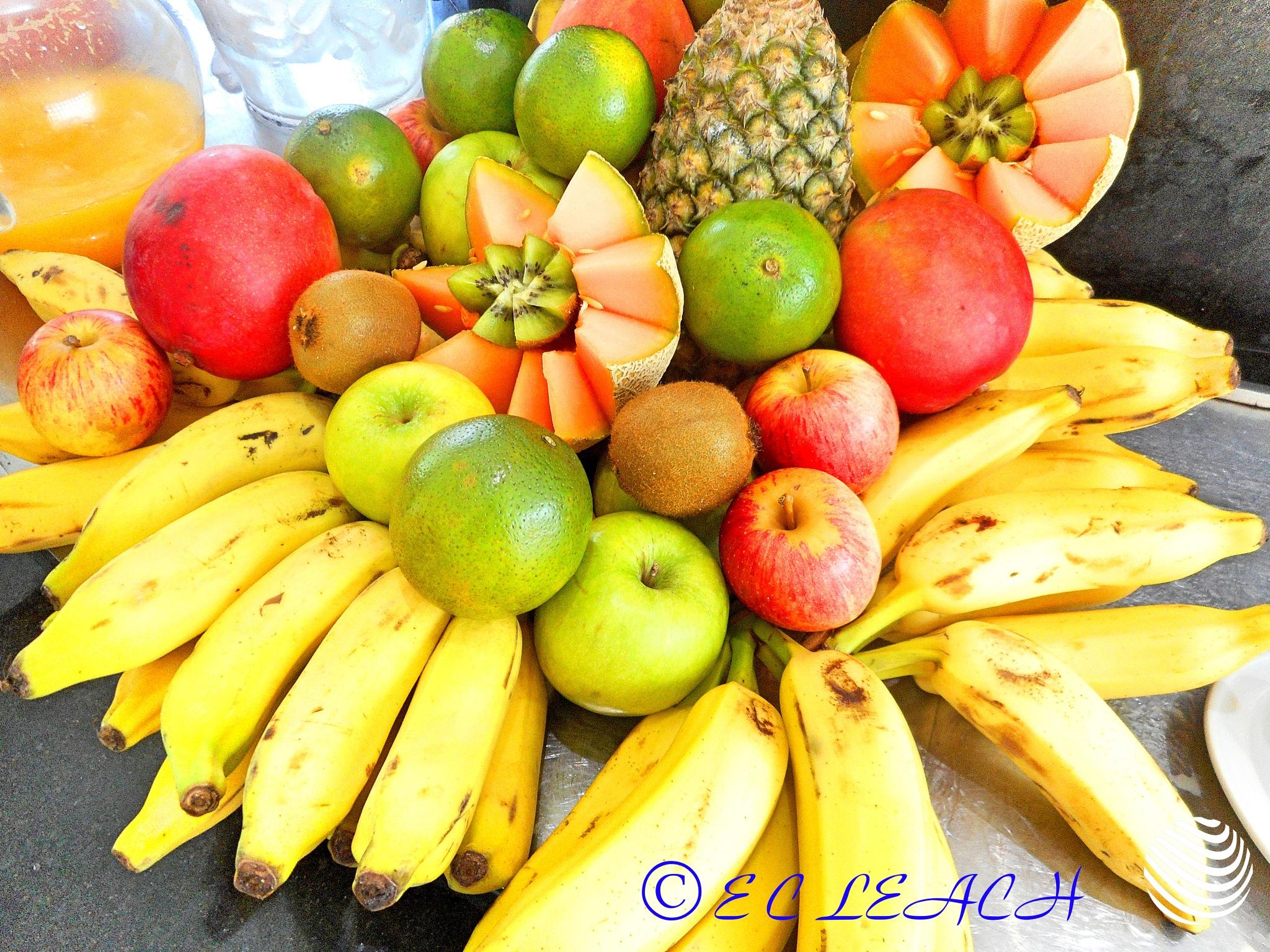 Fruit  by Elmer Leach