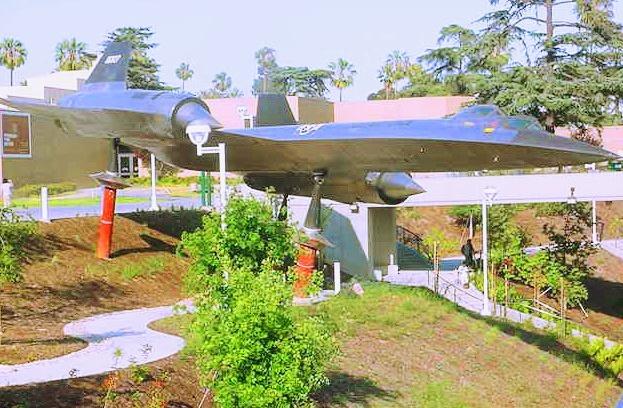 Airplane at Museum by Elmer Leach