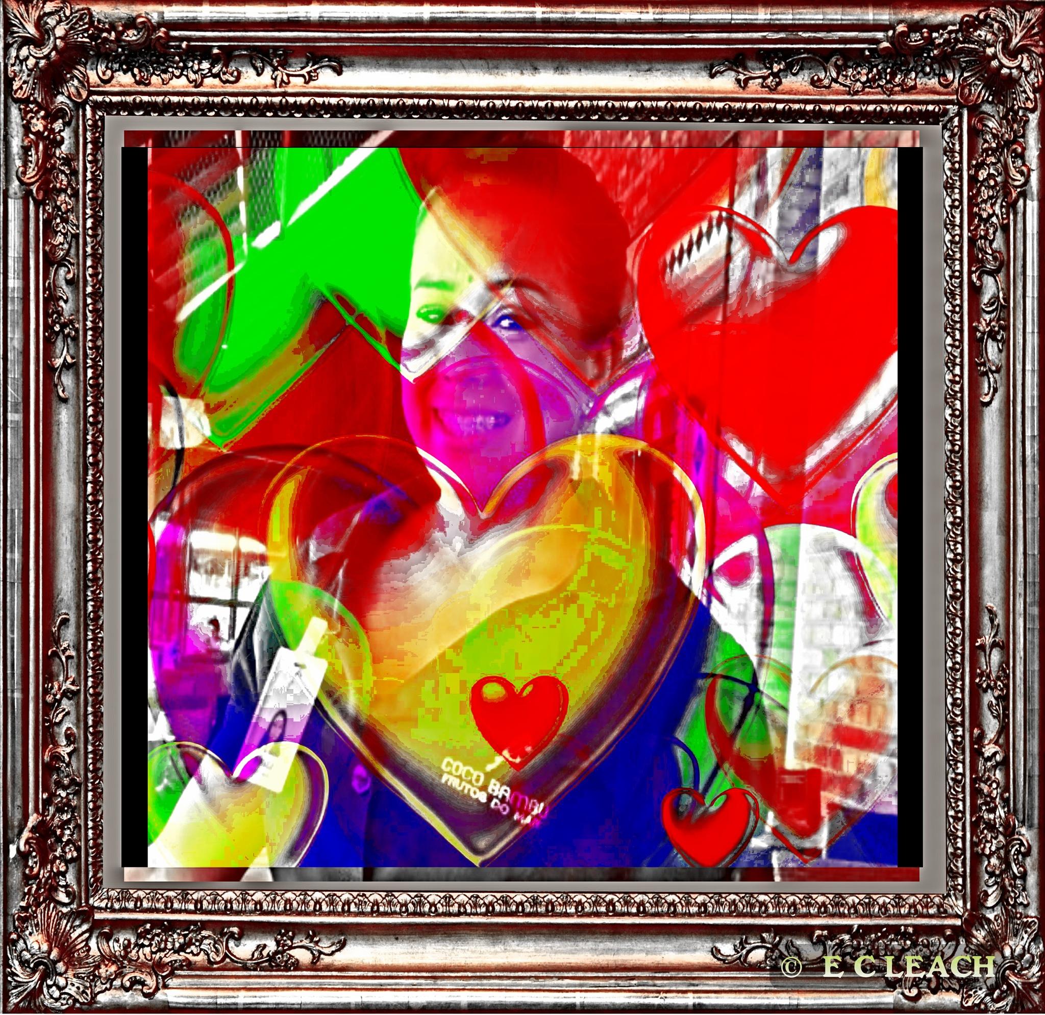 Queen of Hearts by Elmer Leach