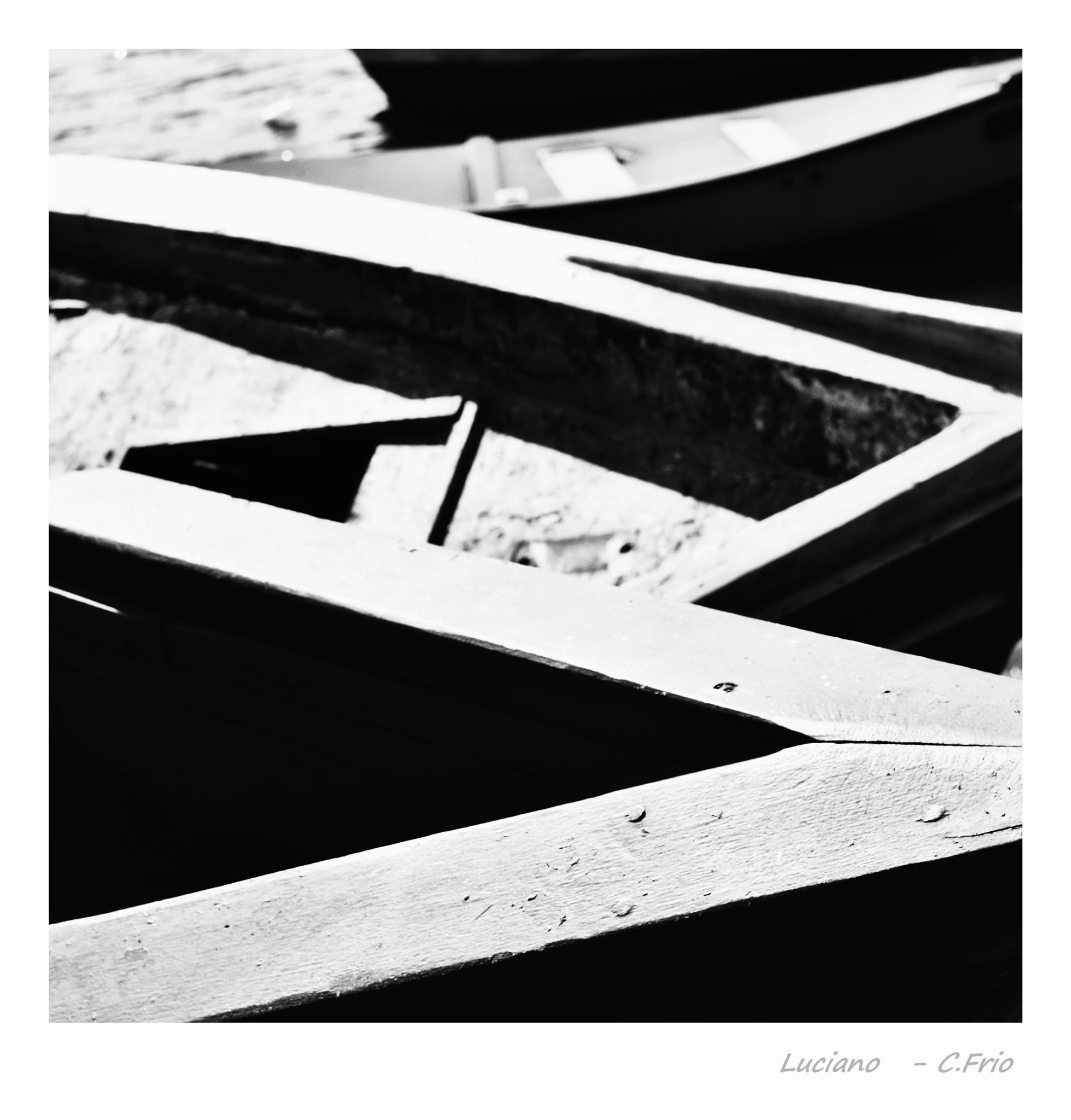 Barcos em linha. by Barbosa