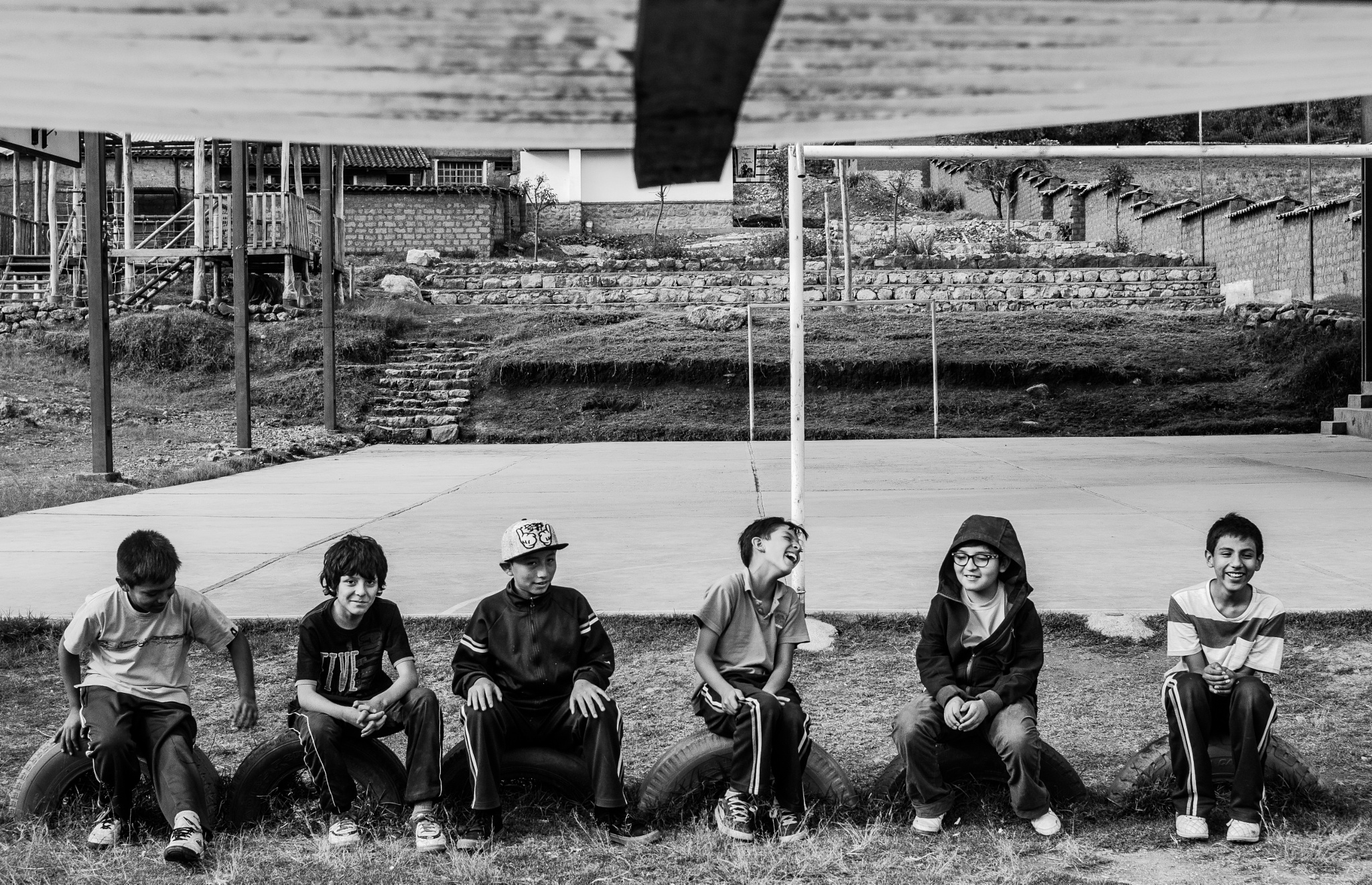 Photo in Black and White #people #blackandwhite #portrait #kids #children #childs