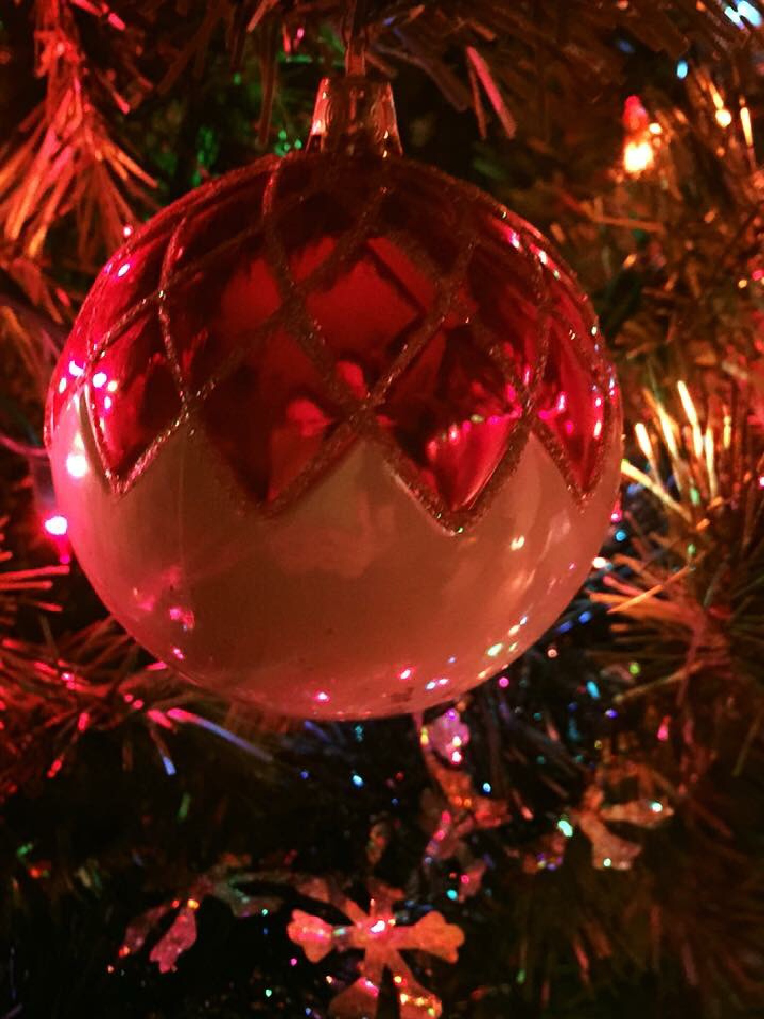 Christmas ornament by Hancock Photography