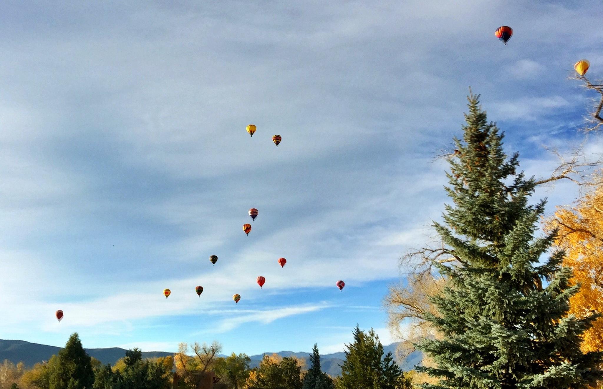 Taos hot air balloons by emsphotonut41