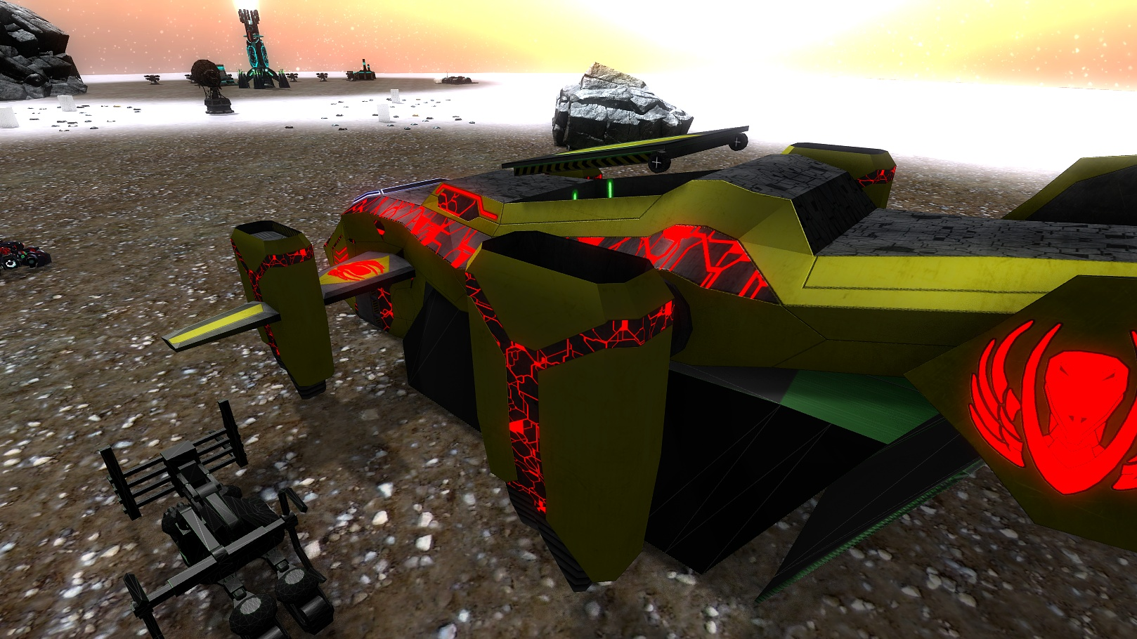 CFA Dropship - First texture complete by ZenovkaGames