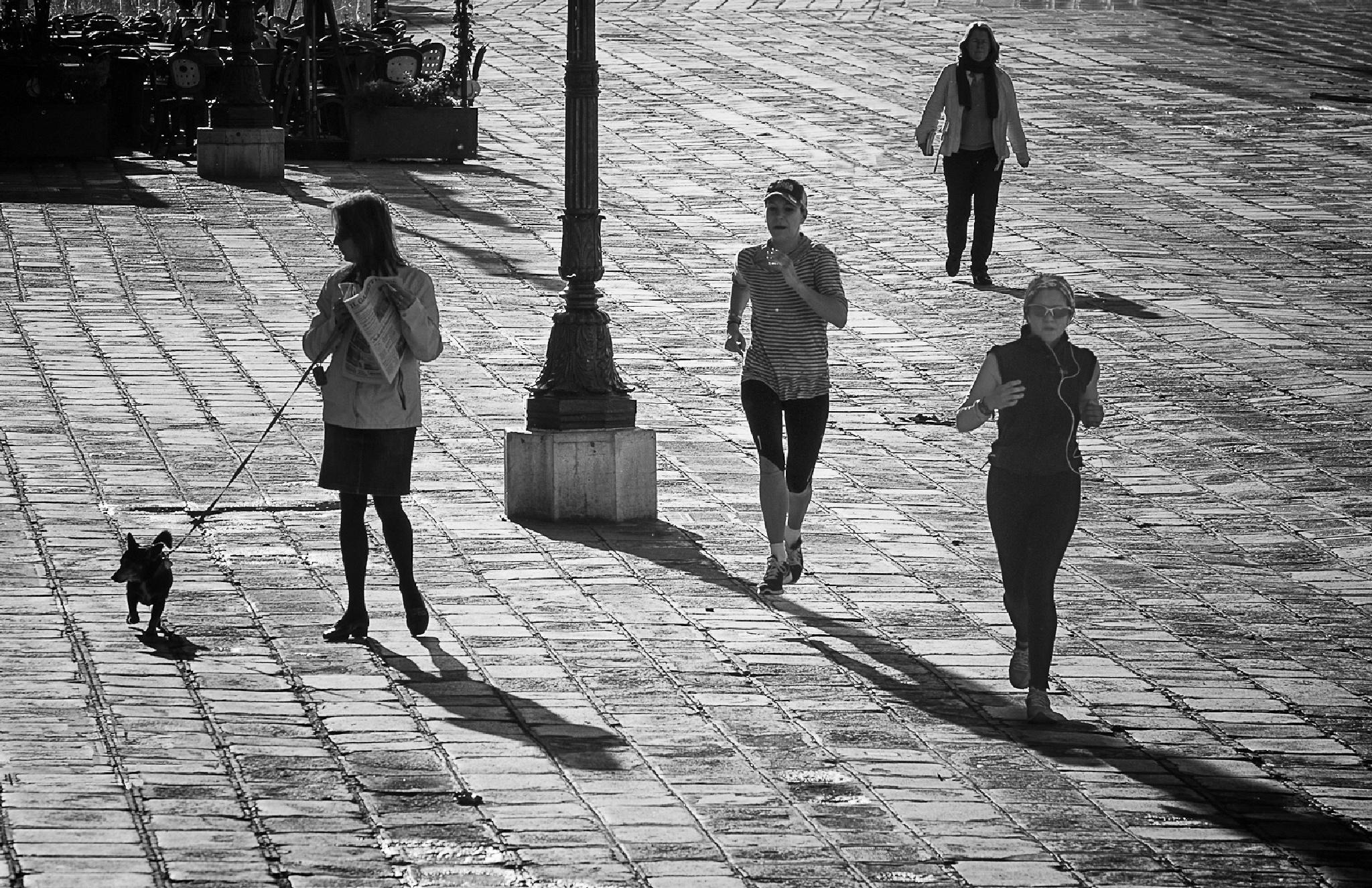 Footing à Venise by imnalavi
