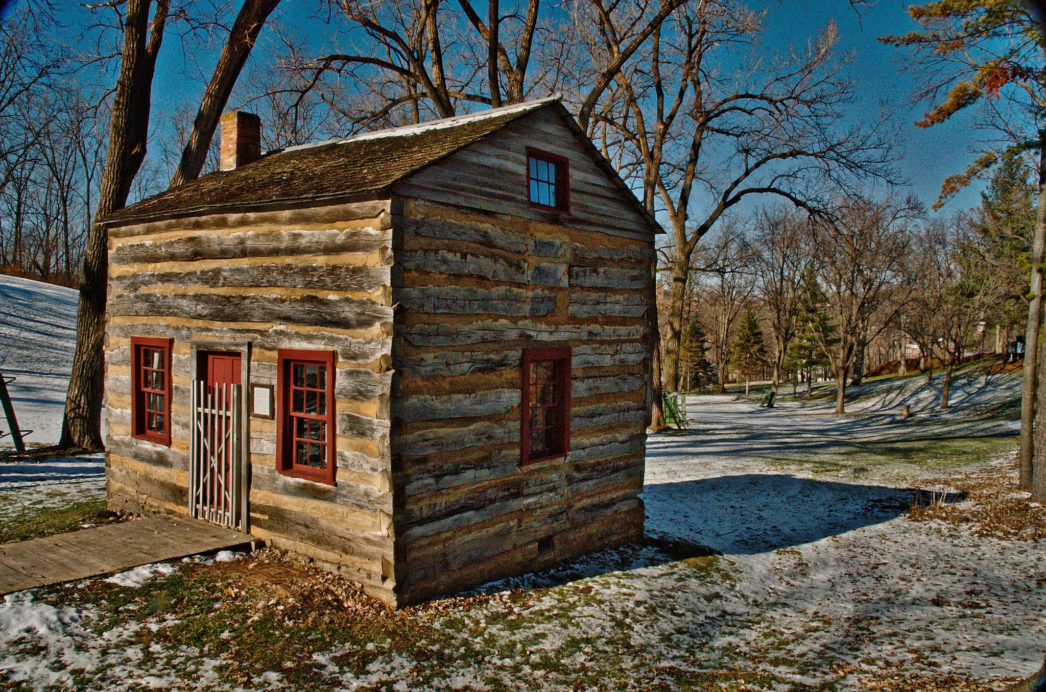The Wooden Cabin by gamma19426