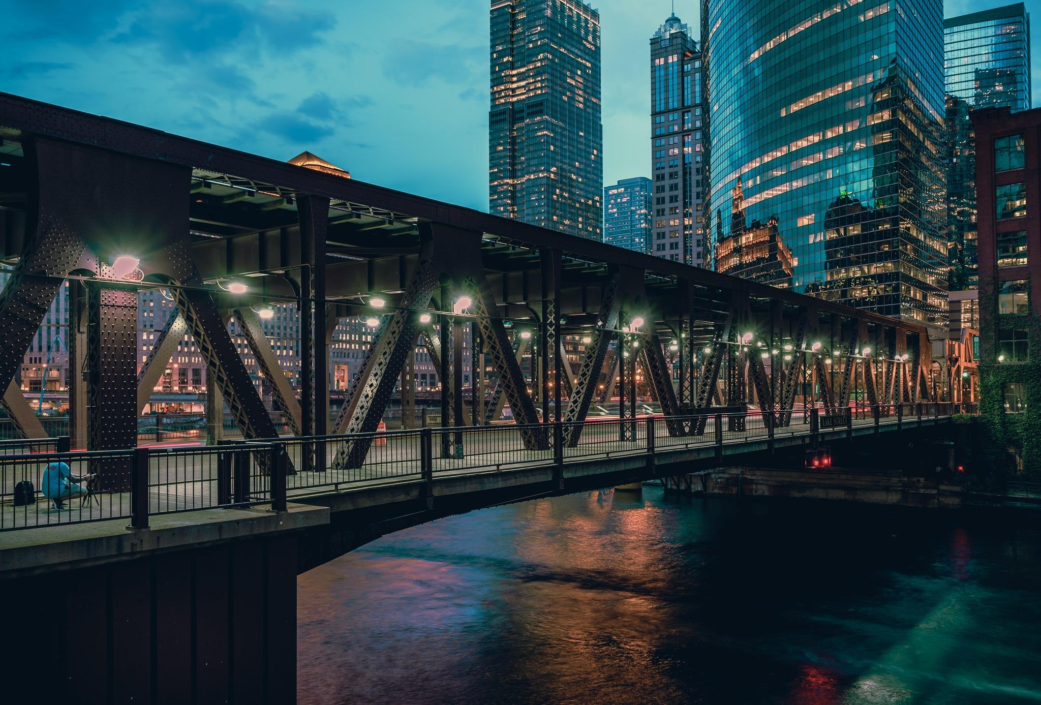 Illuminated Chicago by Nisah Cheatham