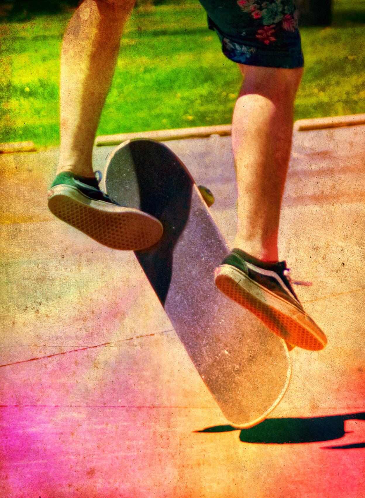 Retro Skateboard Shoot by Randy J Smith Photography