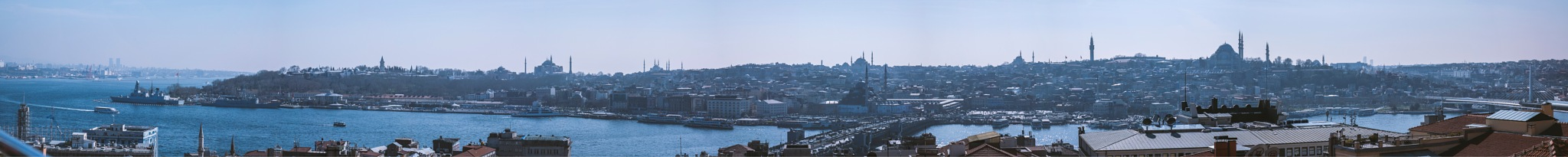 Panorama for Istanbul by Ahmad Alsayed