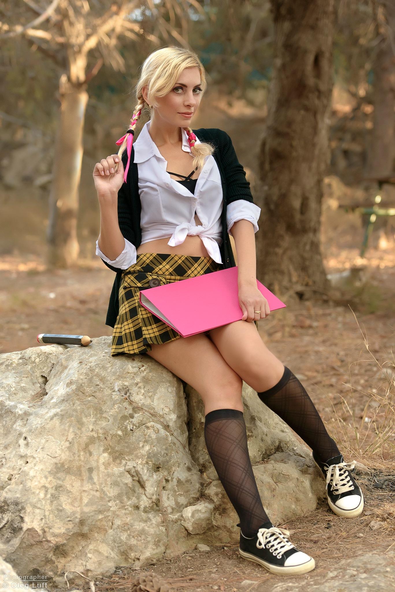 SchoolGirl by Oleg Luft