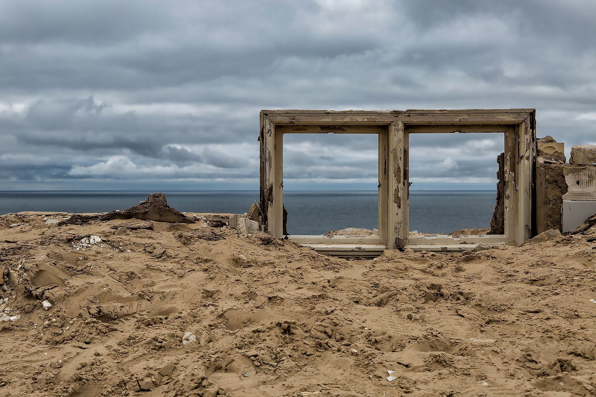 window with a view by Claus Lyst Hansen