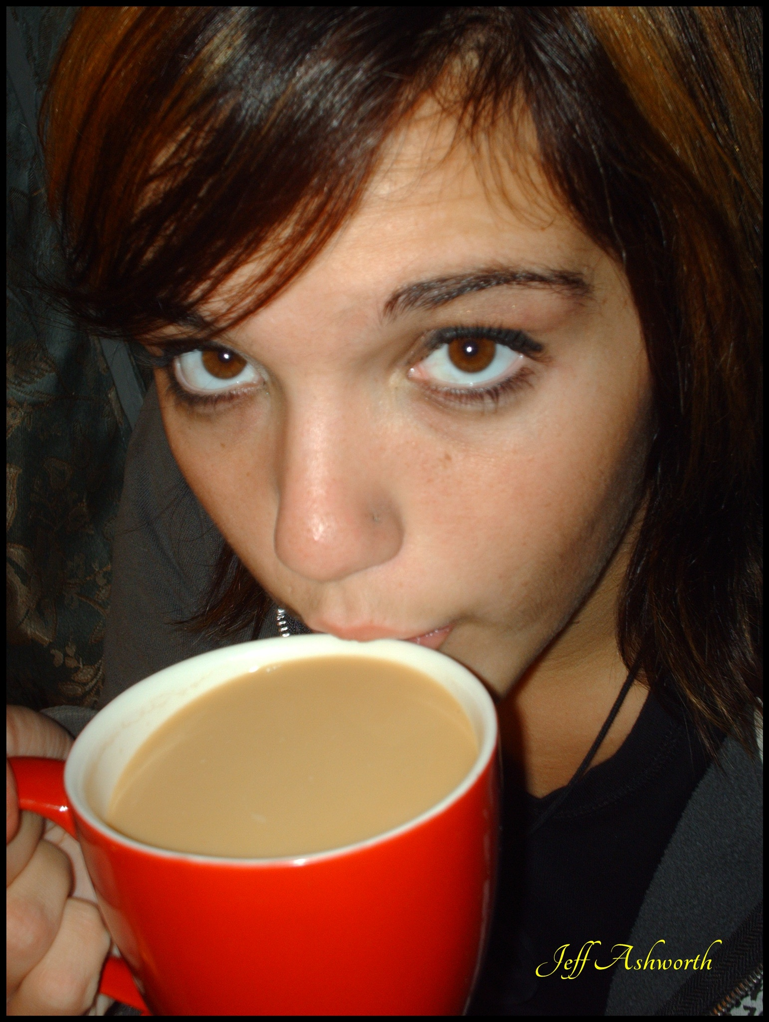 Samantha's Morning cup of Java by jeffashworth
