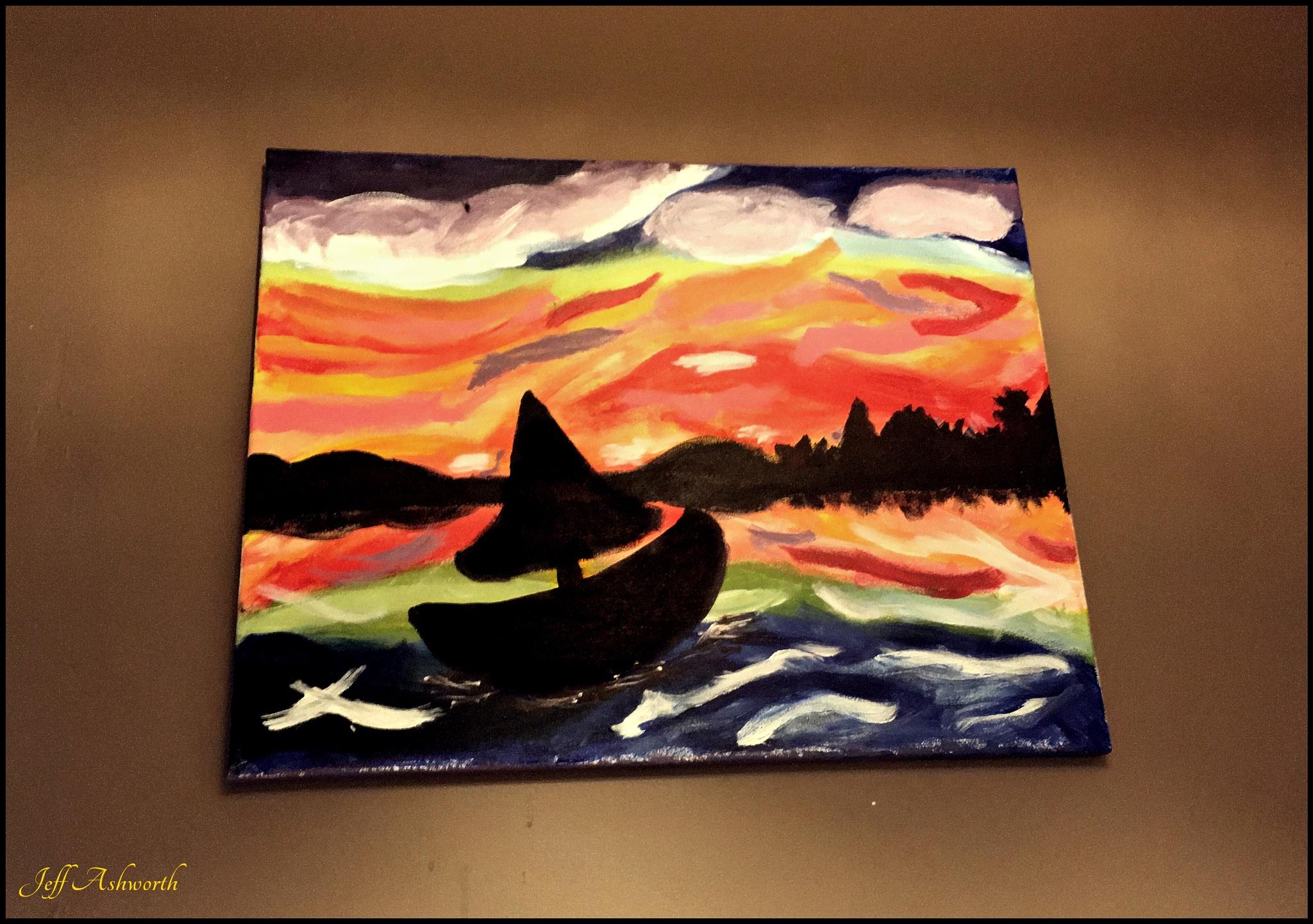 Lost At Sea by jeffashworth