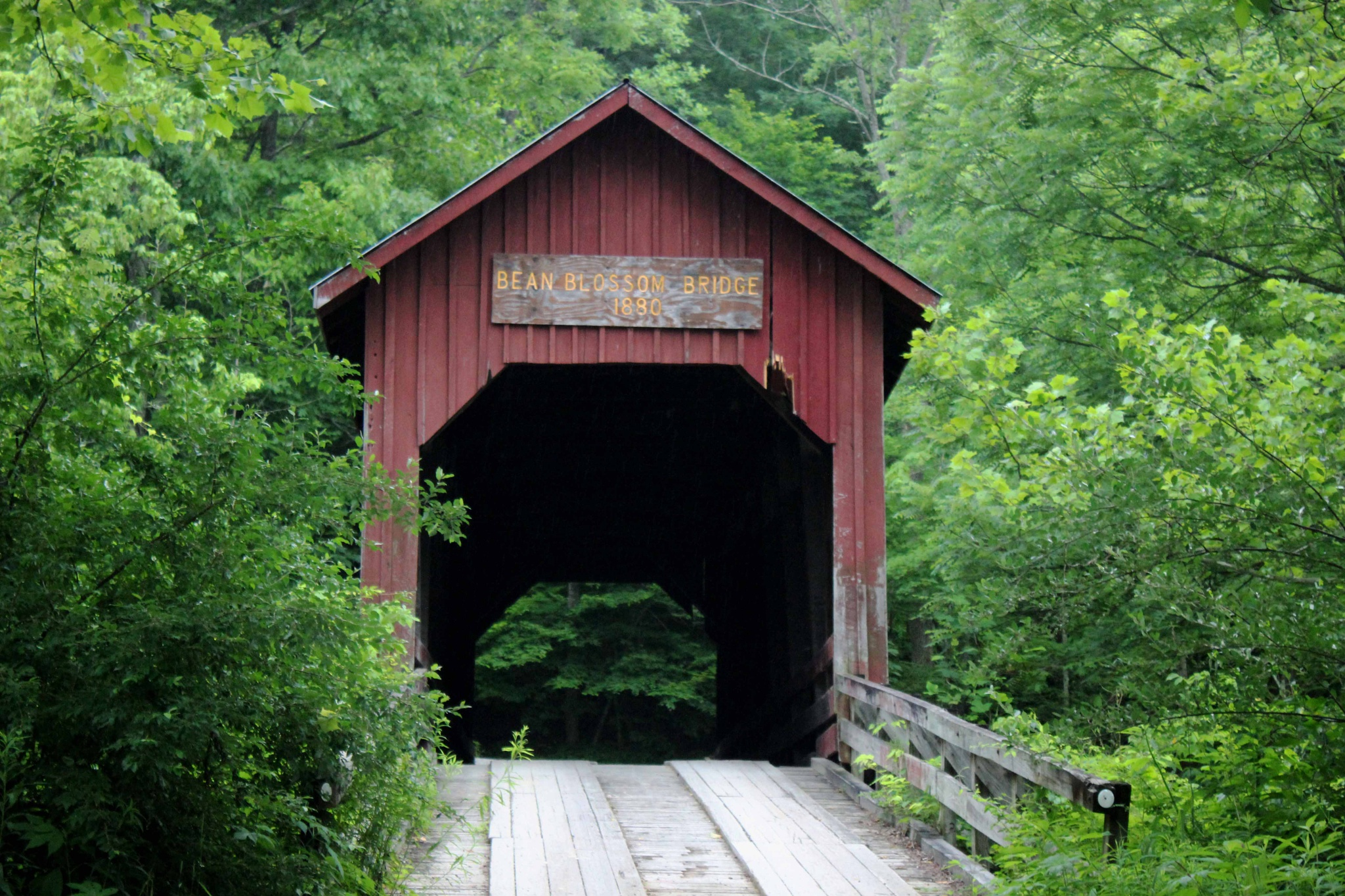 Bean Blossom Covered Bridge by Karen Harris