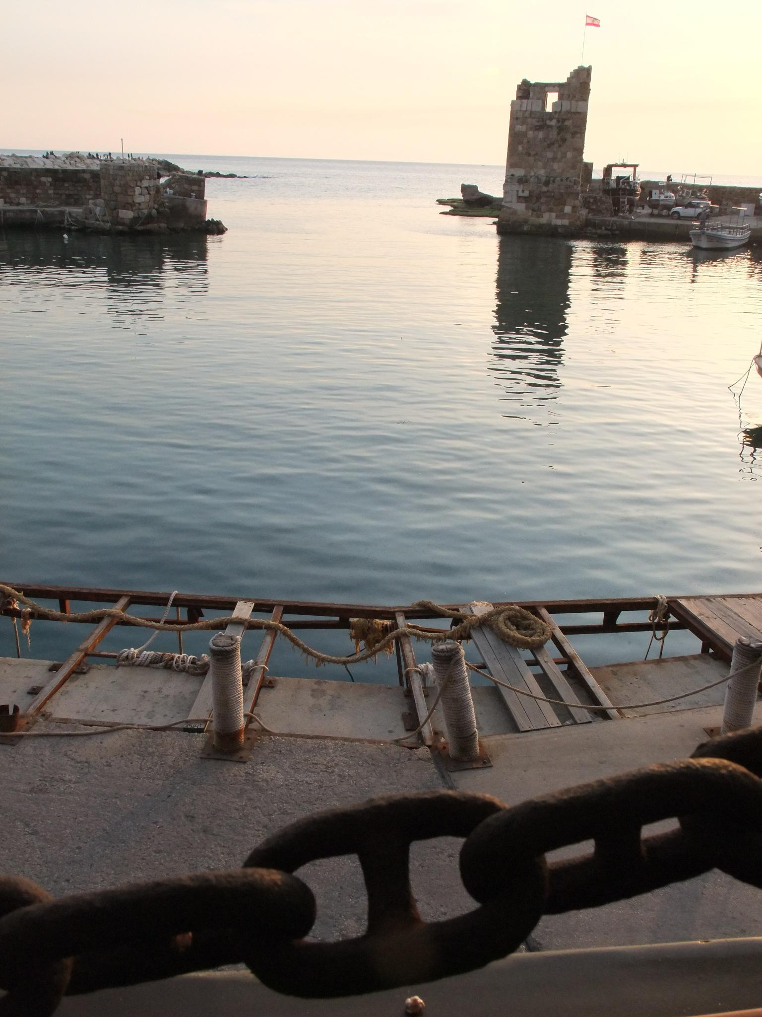 Byblos, Liban by Giselle El Raheb