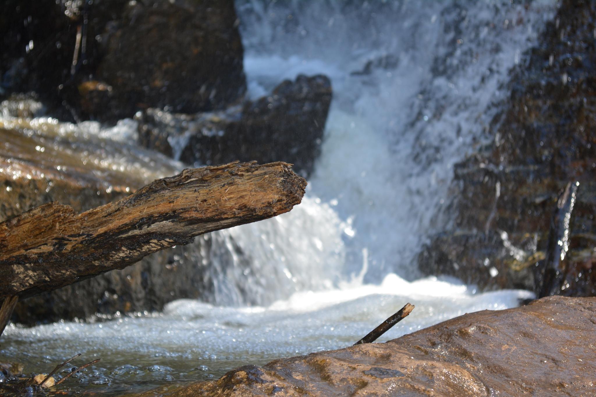Waterfall Pools by Gena Koelker