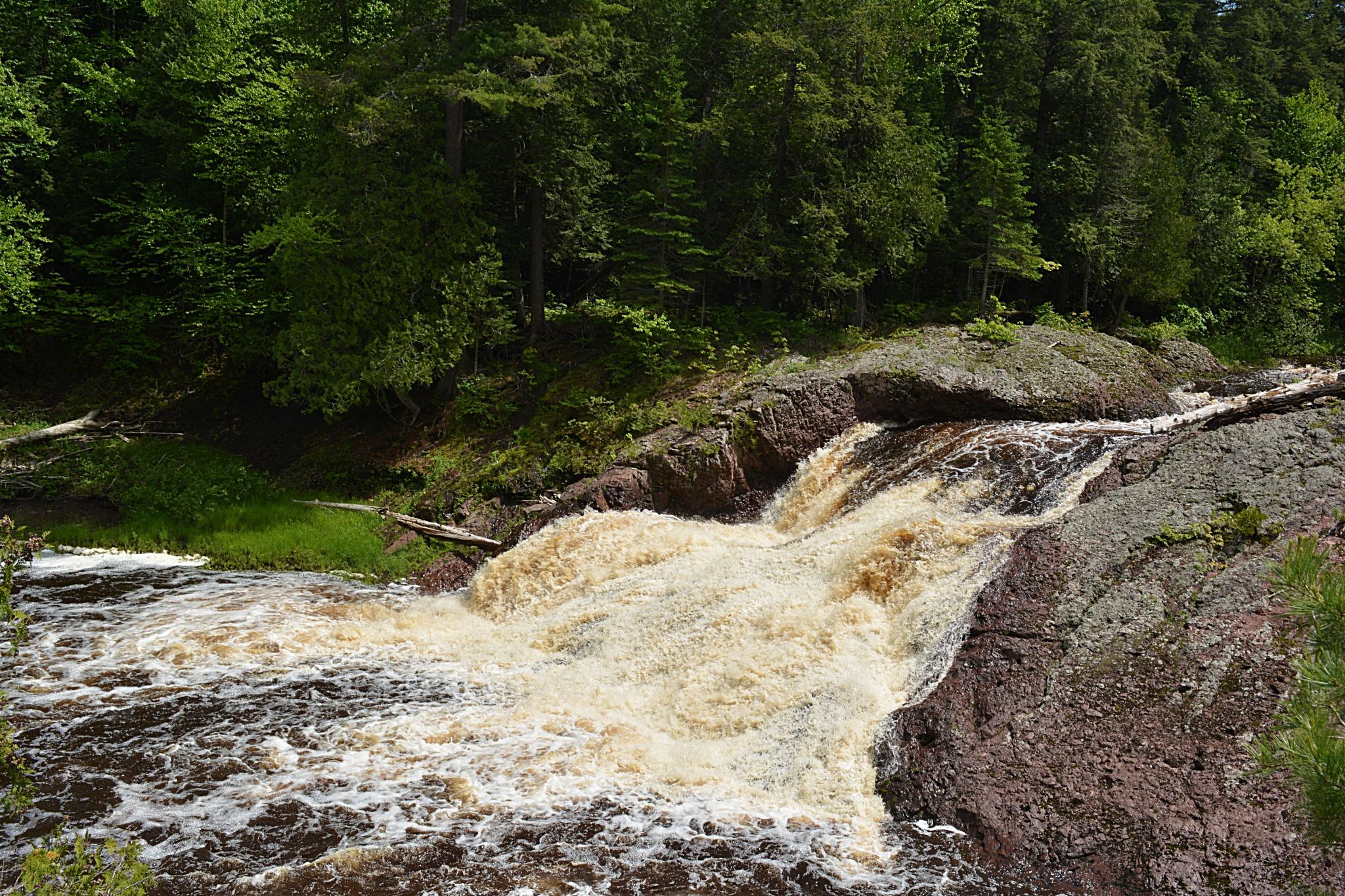 Waterfalls on the Black River by Gena Koelker
