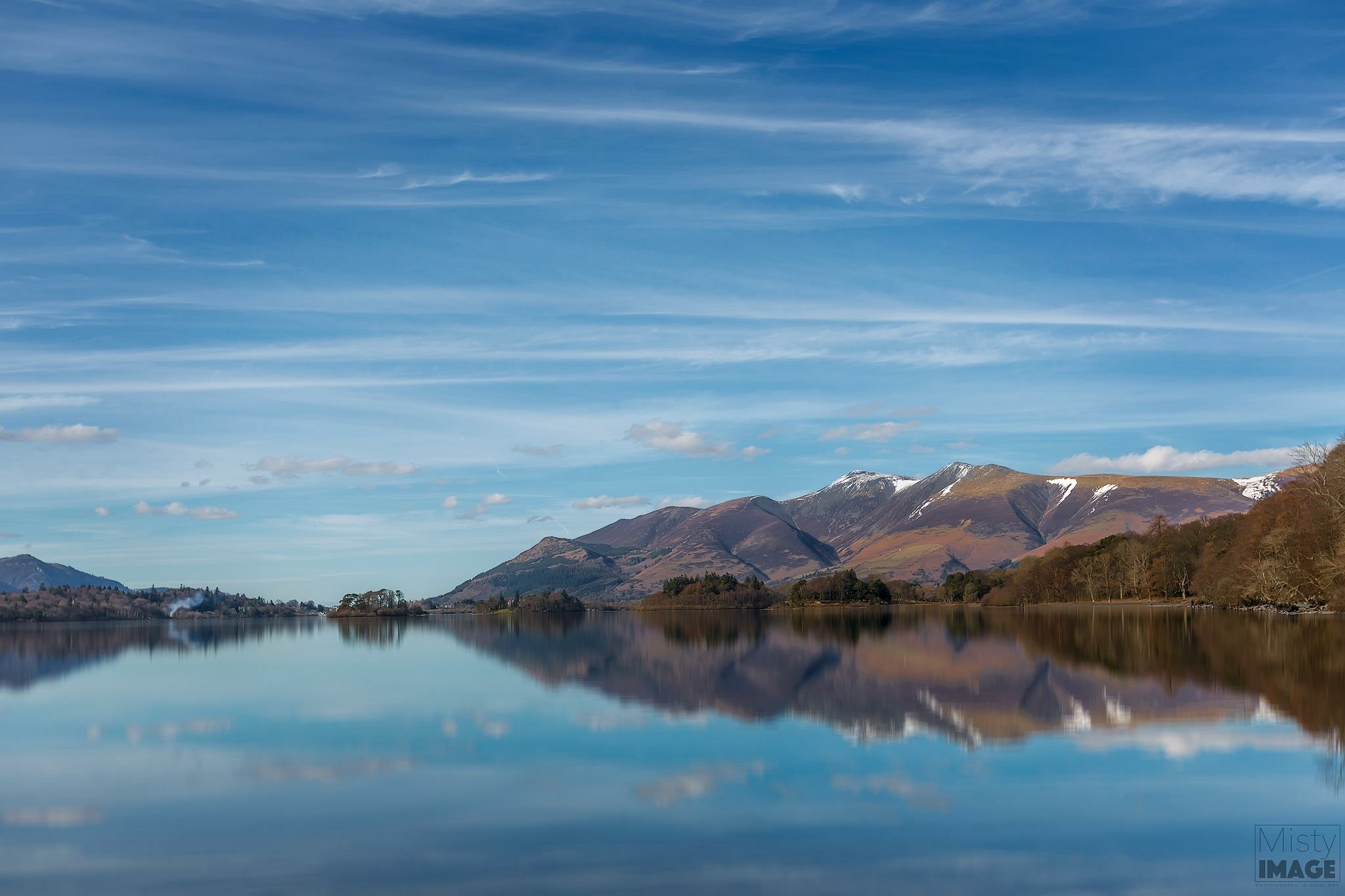 Derwent Water looking towards Skiddaw  by Gray Smith