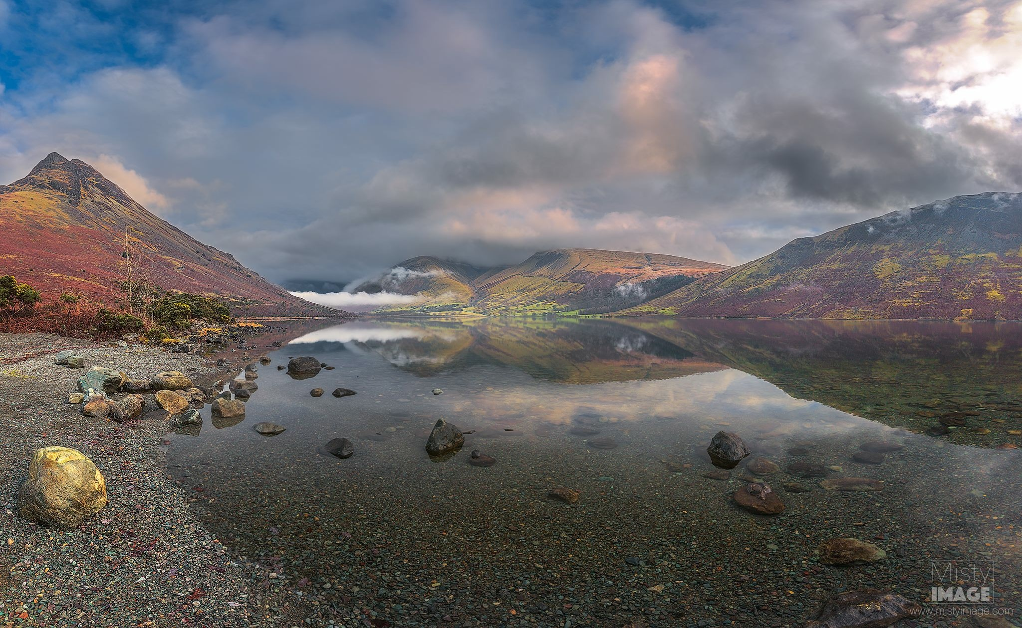 Wast Water in the stunning Lake District  by Gray Smith