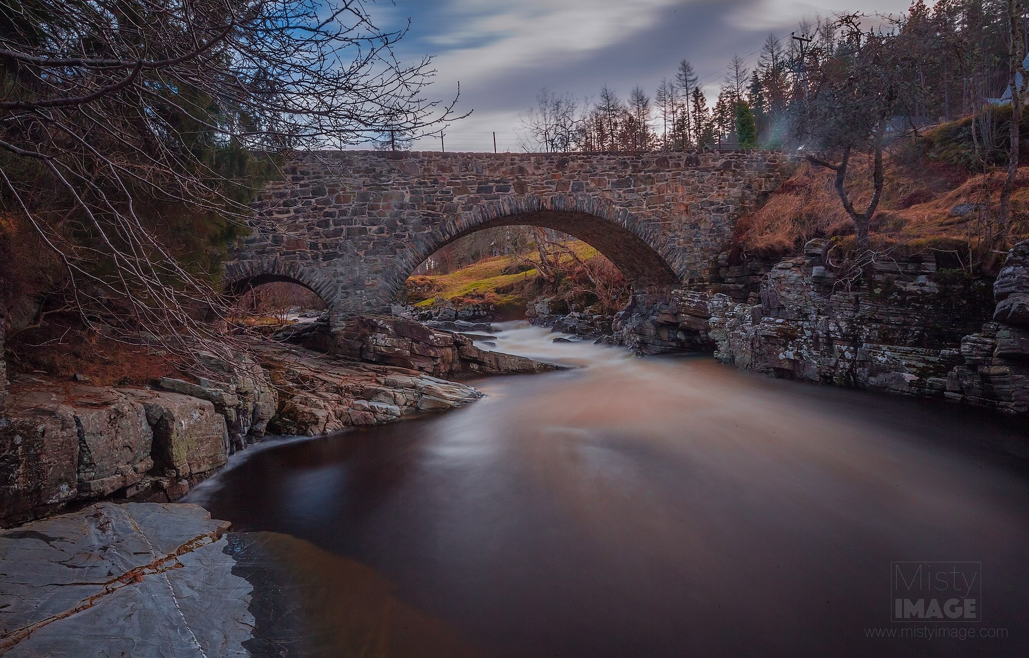 Feshiebridge in the stunning Scottish Highlands  by Gray Smith