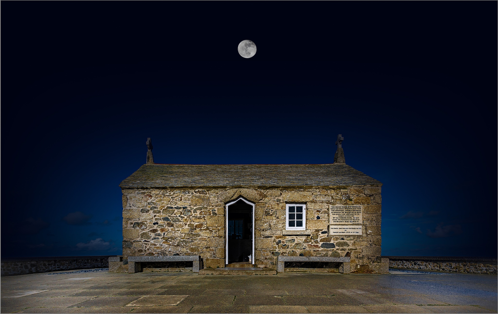 The Chapel of St Nicholas - St Ives by Gray Smith