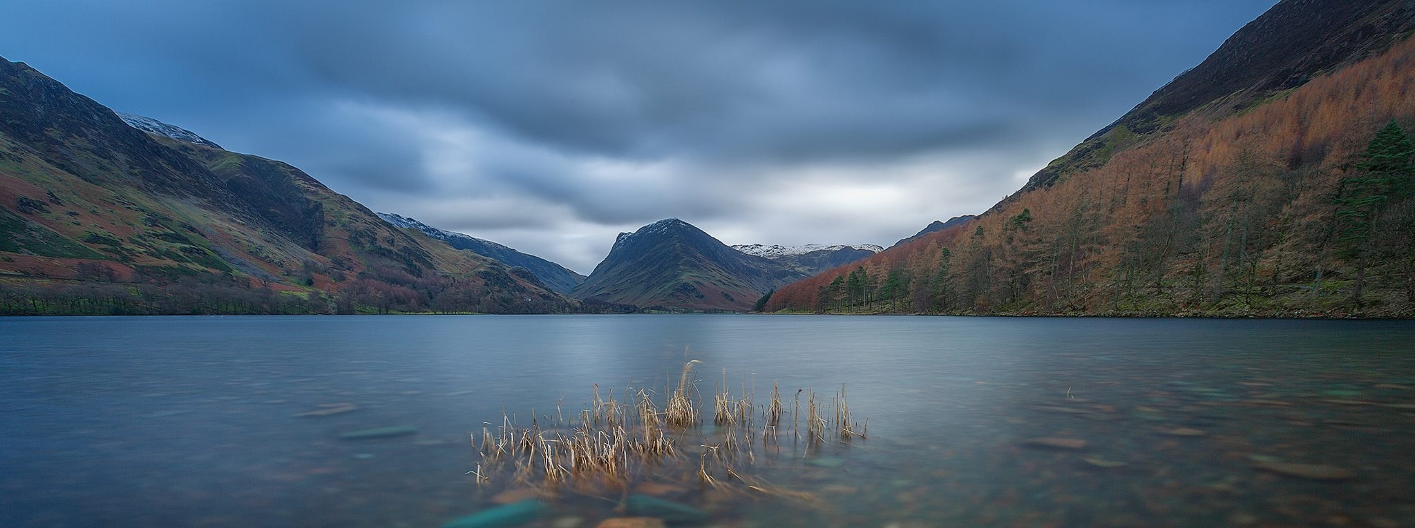 Buttermere - The view to Fleetwith Pike  by Gray Smith