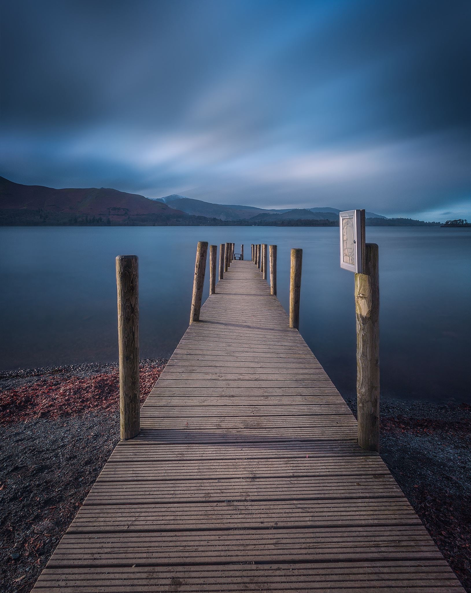 Ashness Jetty - Derwent Water by Gray Smith