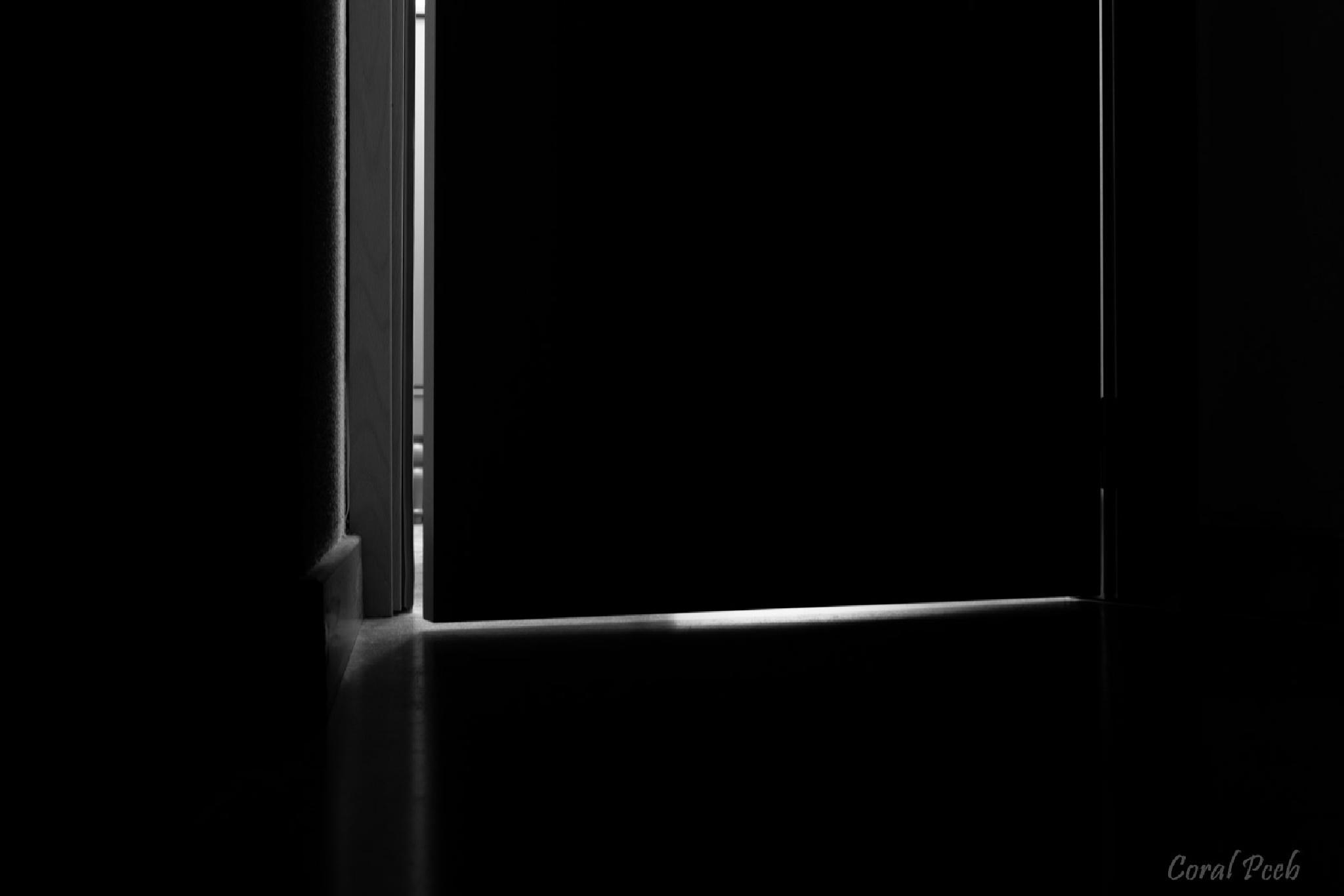 Behind the door by CoralPceb