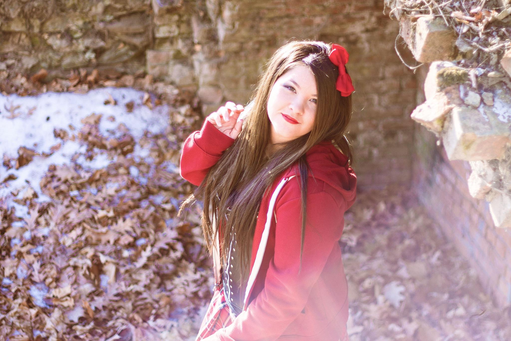 """Little Red  by Amanda """"Living Faerie"""" Brueckner"""