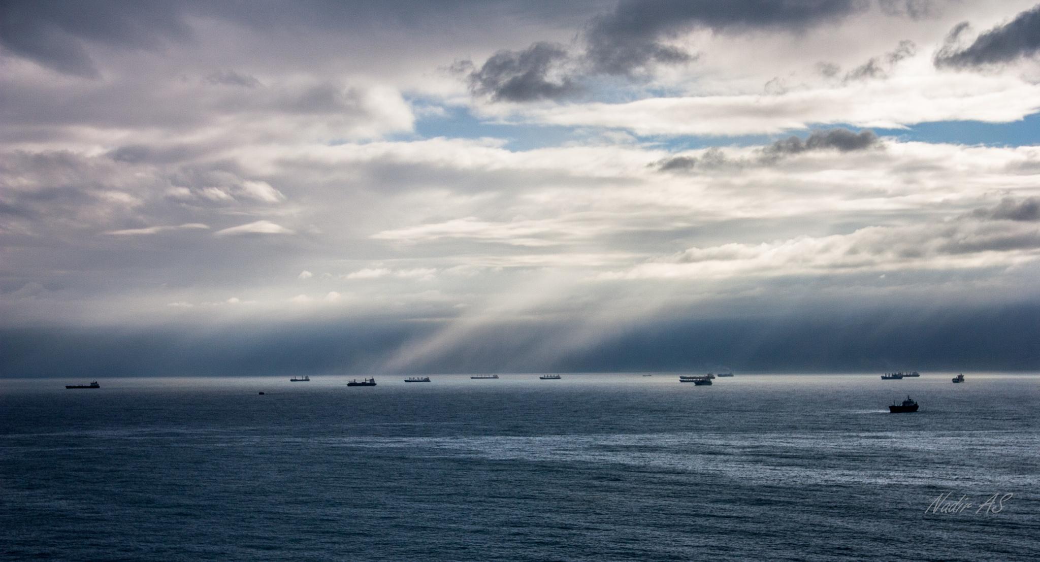 Calm befor the Storm by Nadir Ait Saadi