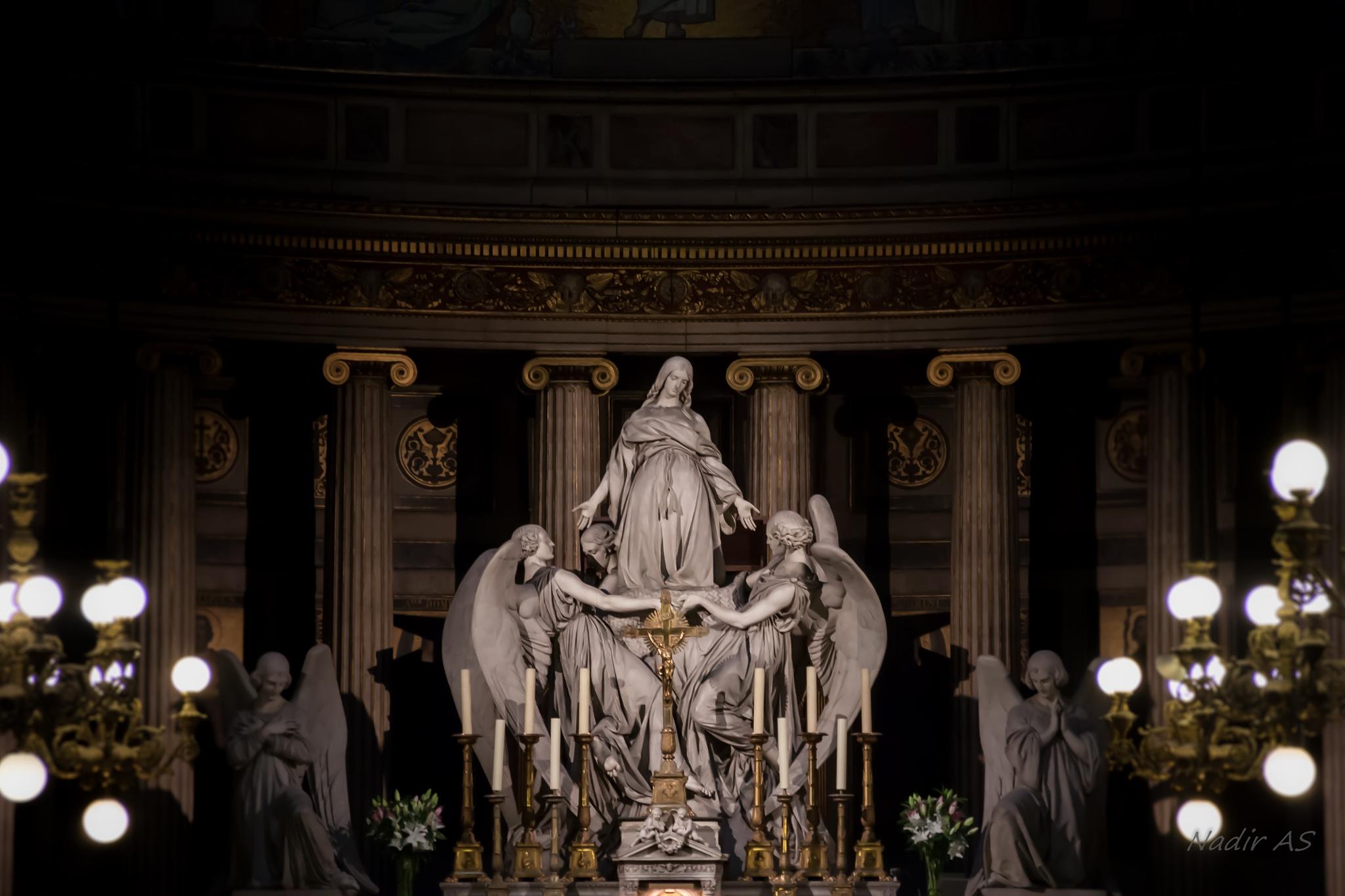 Sainte Madeleine by Nadir Ait Saadi