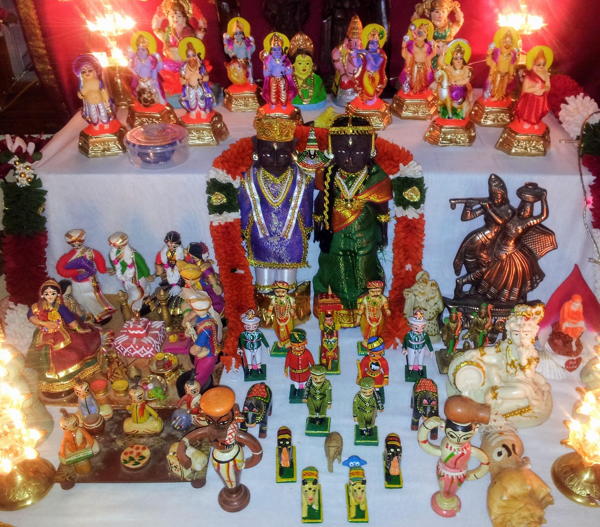 Traditional Indian toys by RajeshwarPuvvada