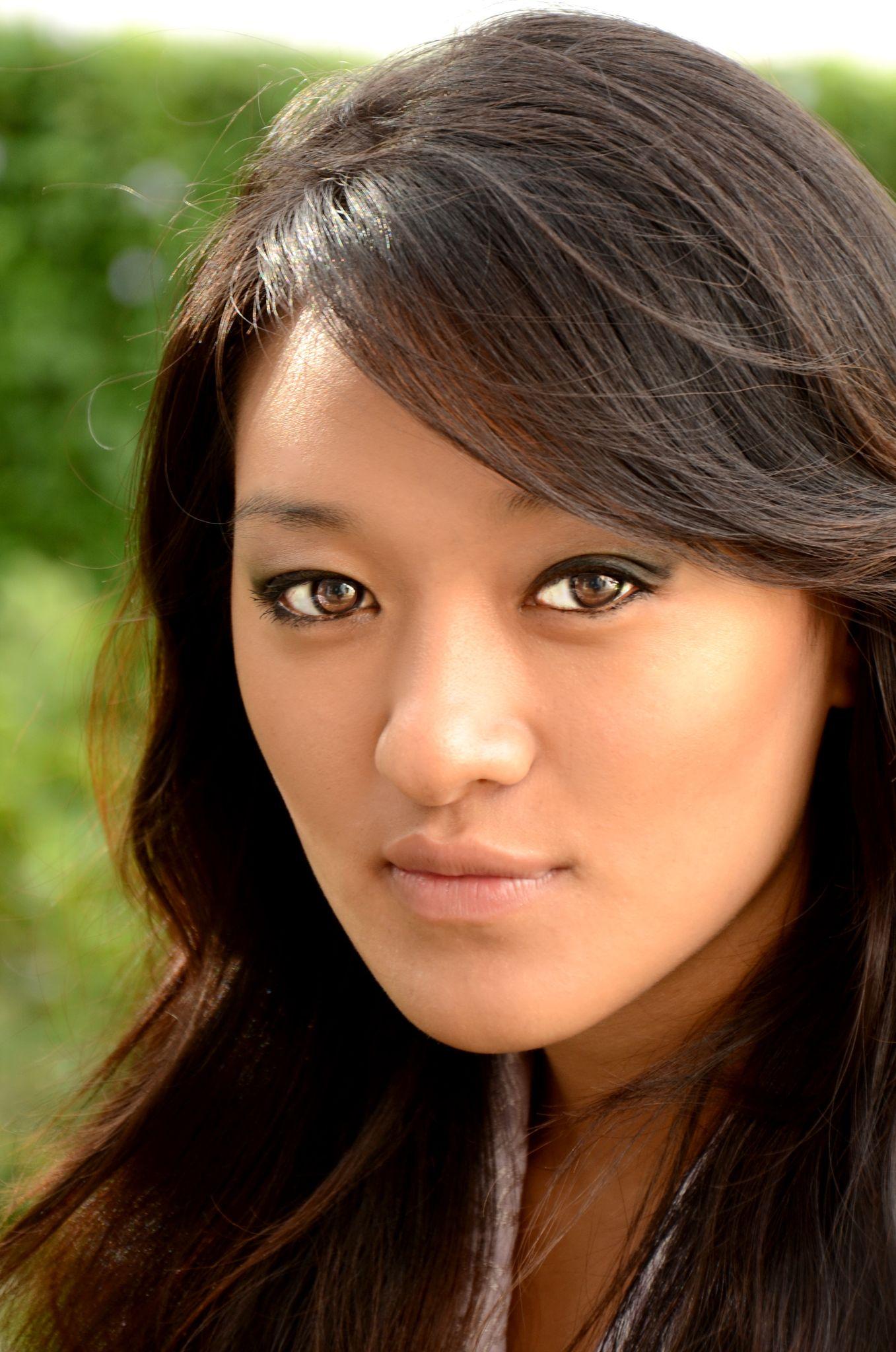 Bhutanese lady by Ugyen Tshering