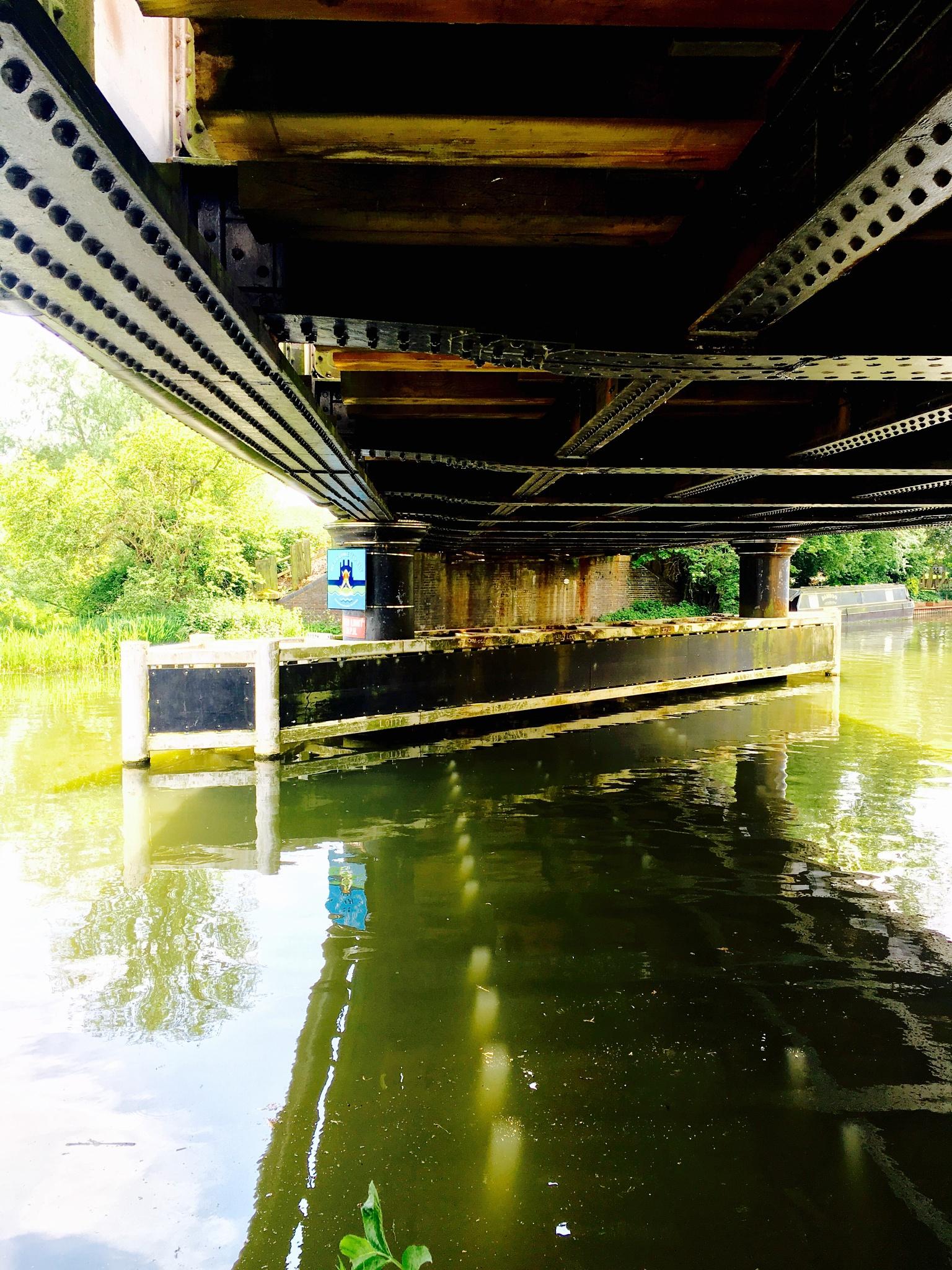 Photo in Landscape #river #bridge #reflections #calm #sunshine #riverwalk