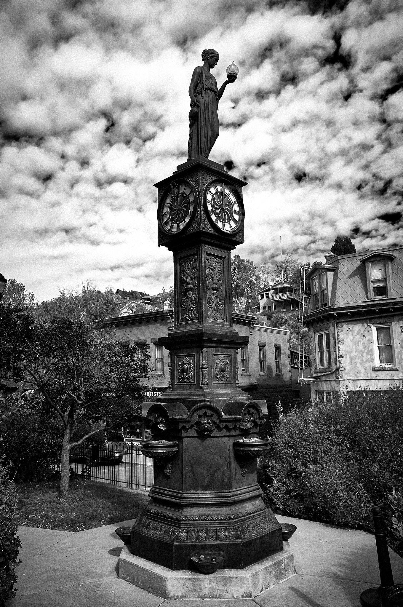 Manitou Springs City Clock by DRussell