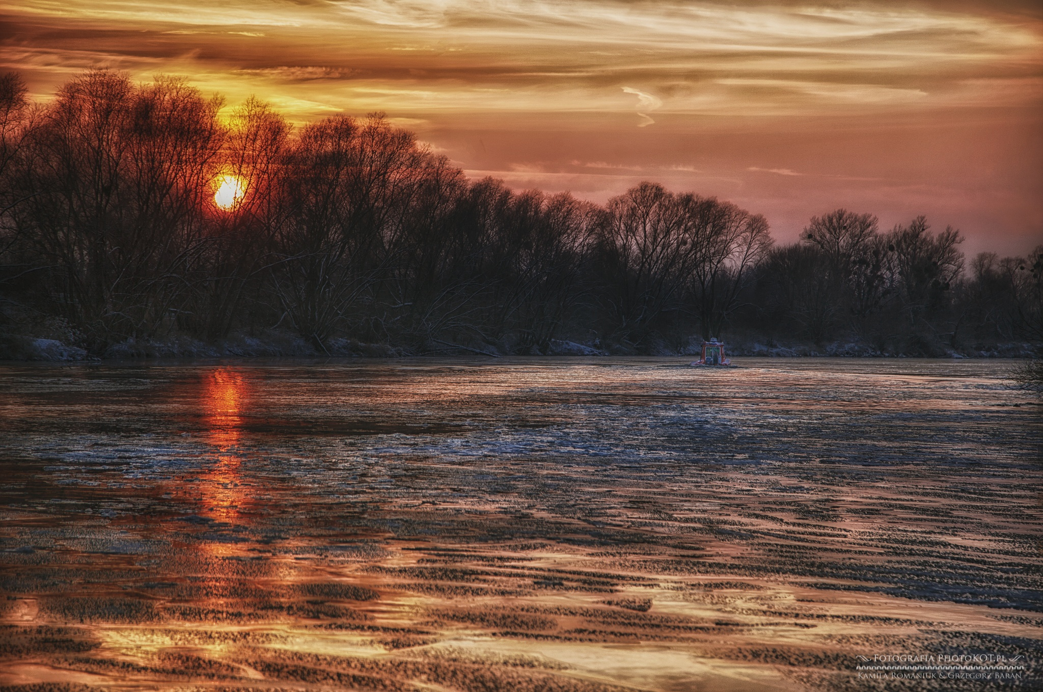 Ice river by Kamila_Romaniuk