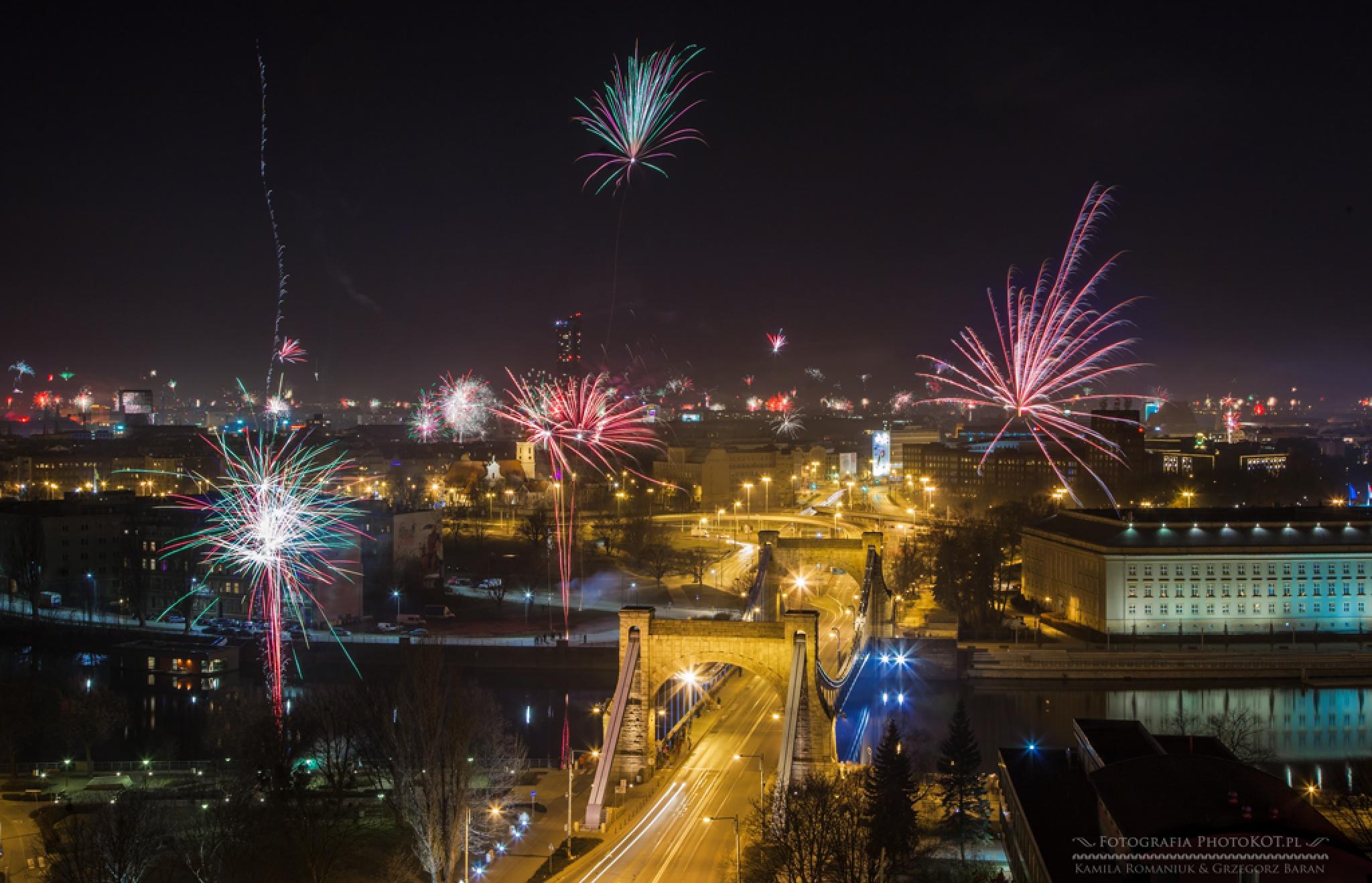 New Year in Wrocław by Kamila_Romaniuk