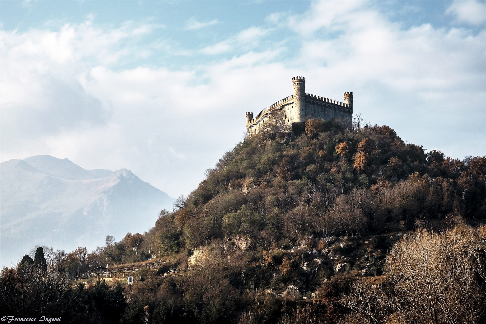 The Castle of Montalto Dora by Francesco Ingemi