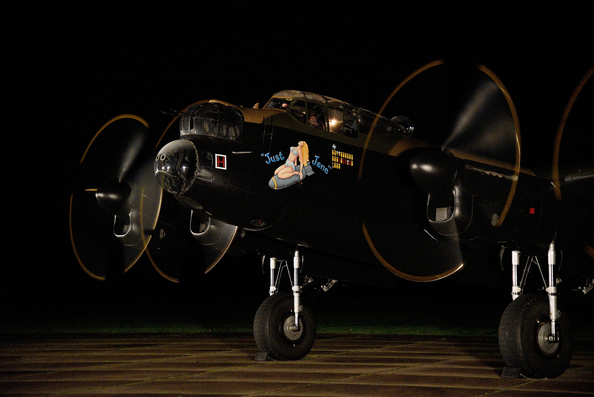 Avro Lancaster NX611 'Just Jane'  by coolcats