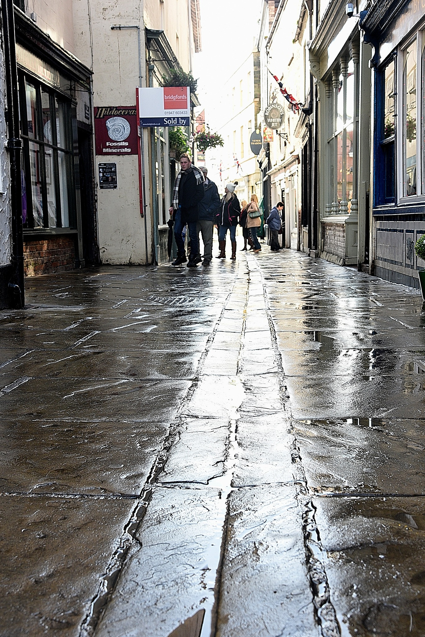 Street in Whitby by coolcats