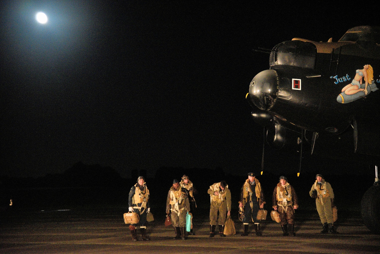 Arriving Home =  NX611Avro Lancaster  'Just Jane'  by coolcats