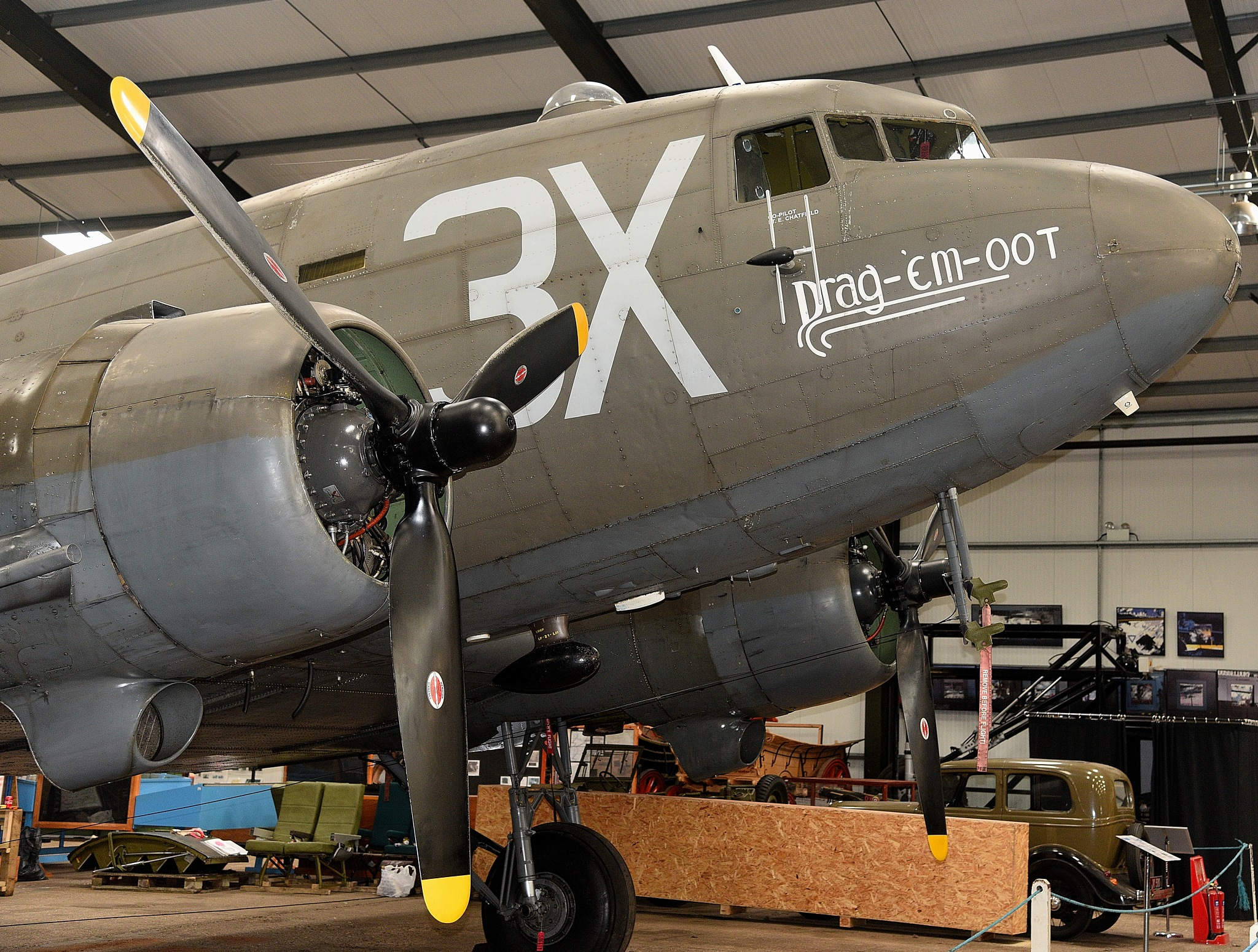 "42-100882 C -47A ""Drag-em-oot"" 87th TCS (N473DC) by coolcats"